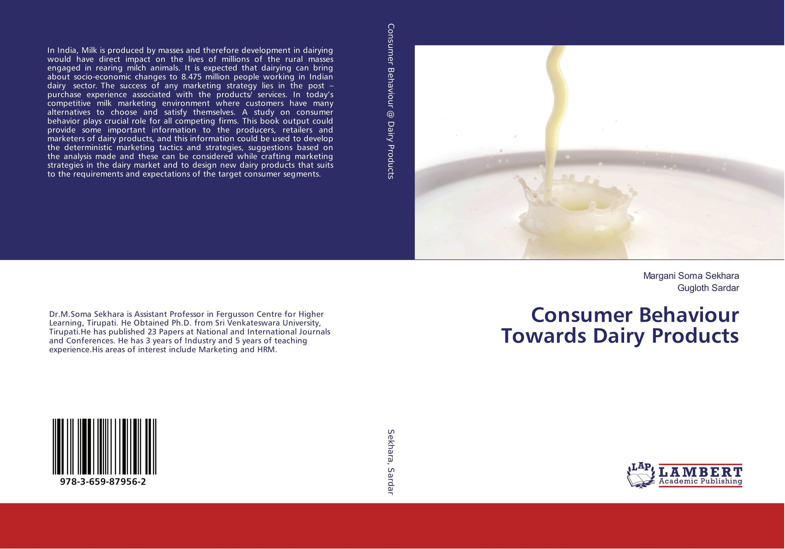 Consumer Behaviour Towards Dairy Products