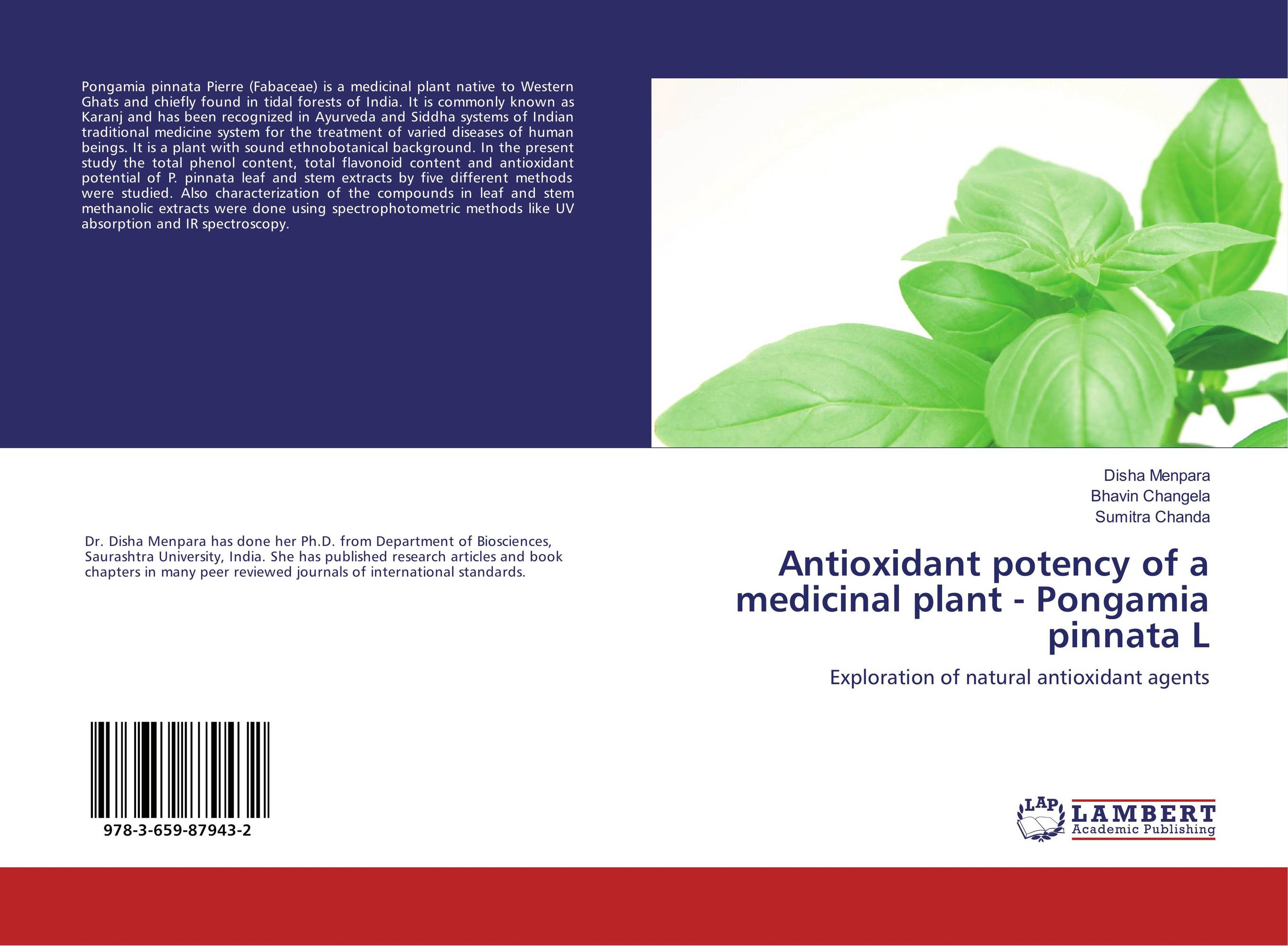 Antioxidant potency of a medicinal plant - Pongamia pinnata L effect of medicinal plant extracts on the viability of protoscoleces