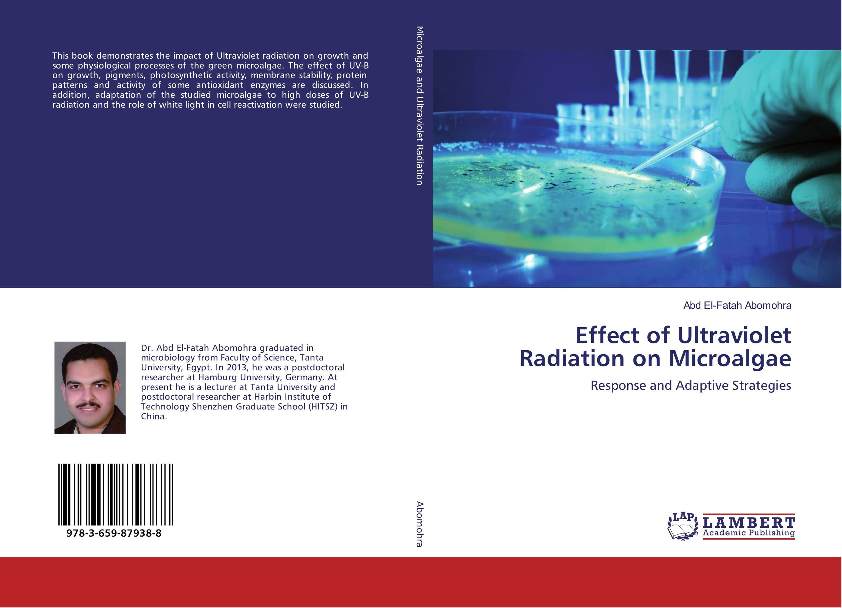 Effect of Ultraviolet Radiation on Microalgae activity recovery growth paper