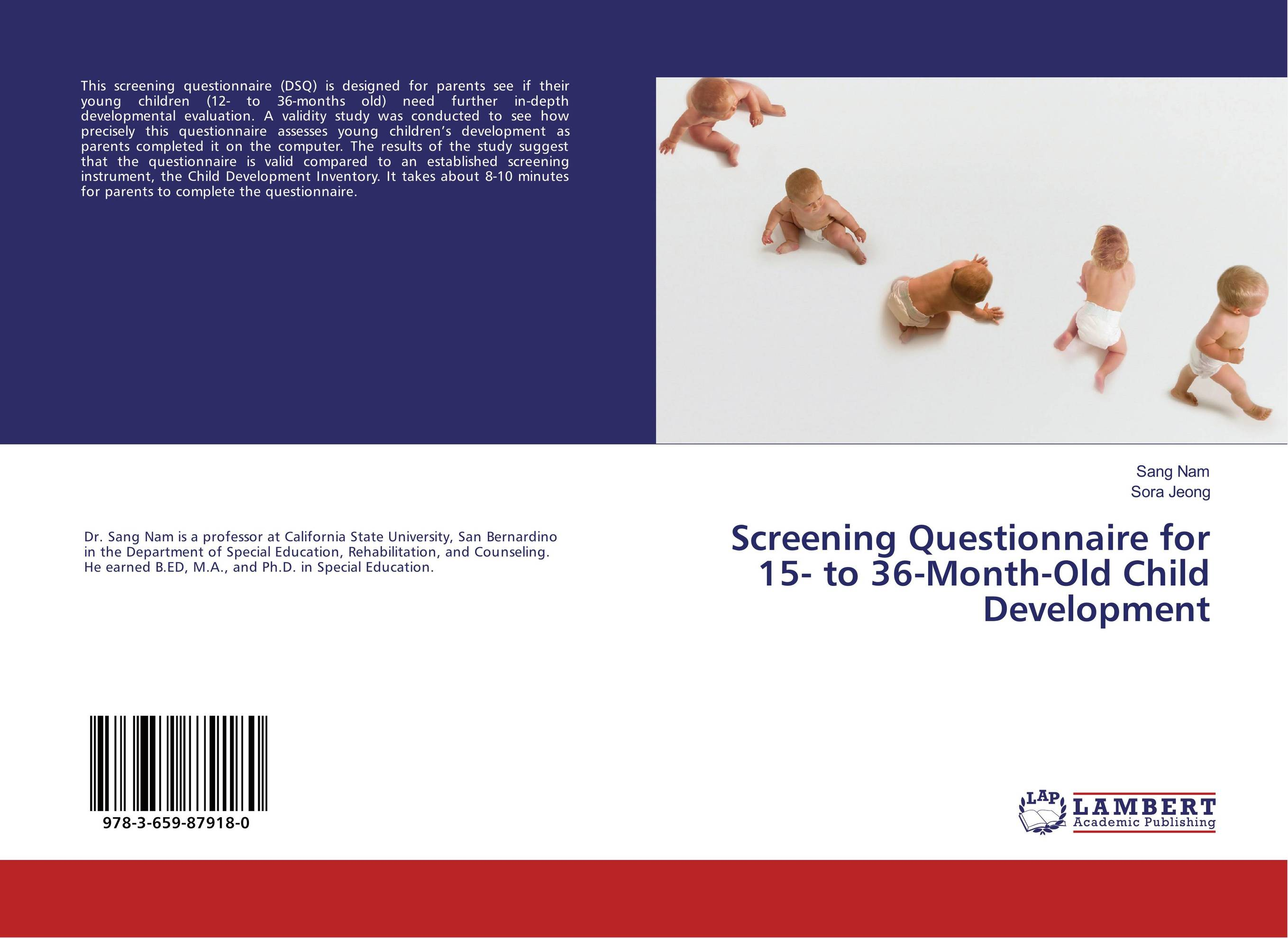 Screening Questionnaire for 15- to 36-Month-Old Child Development antenatal screening for postpartum depression