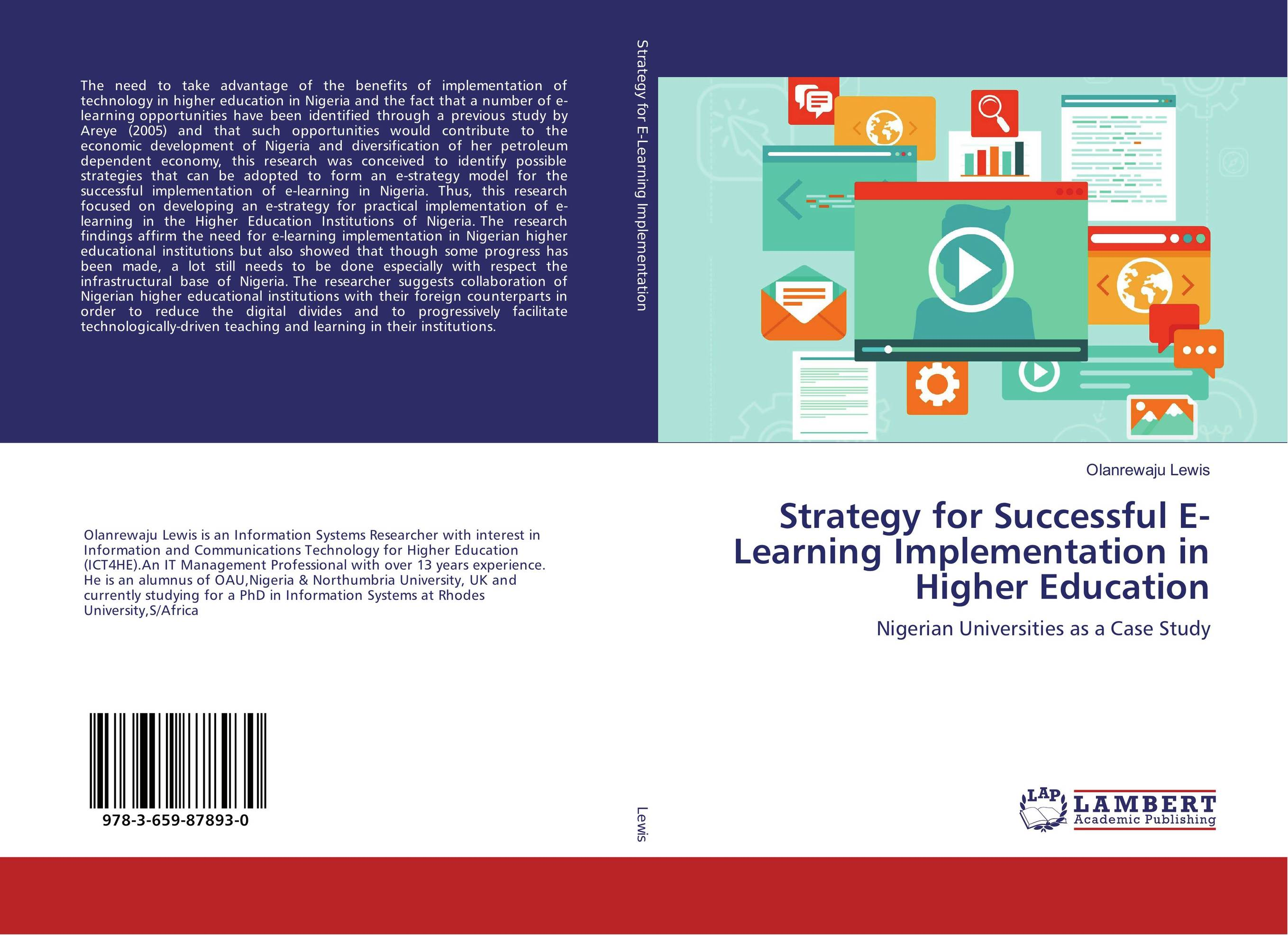 Strategy for Successful E-Learning Implementation in Higher Education driven to distraction