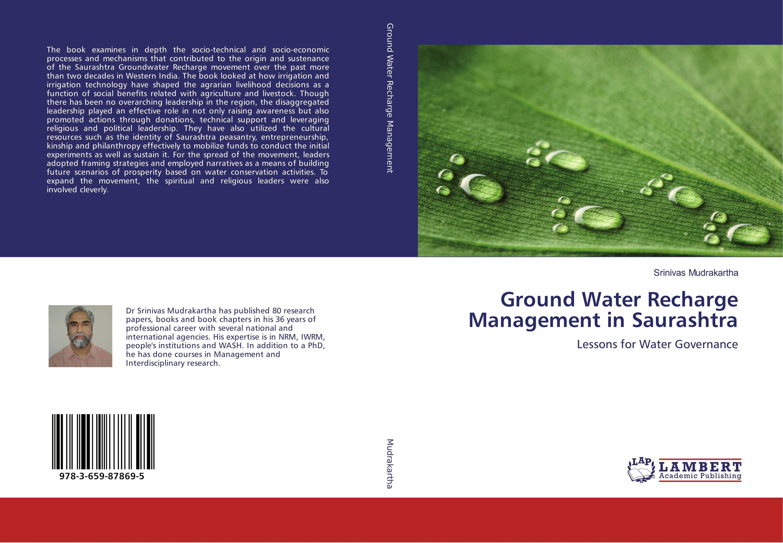 цена на Ground Water Recharge Management in Saurashtra