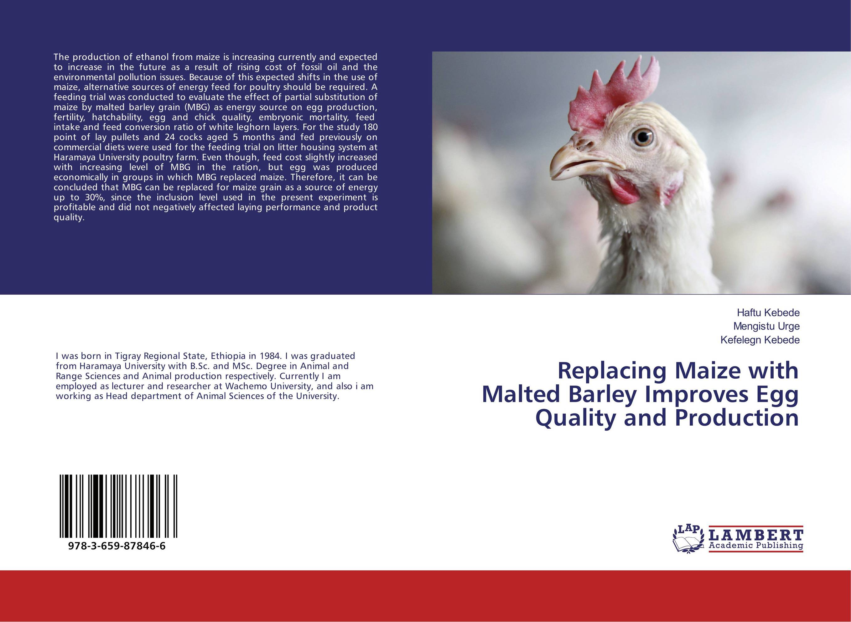 Replacing Maize with Malted Barley Improves Egg Quality and Production estimating the quantity and quality of poultry litter in tamilnadu