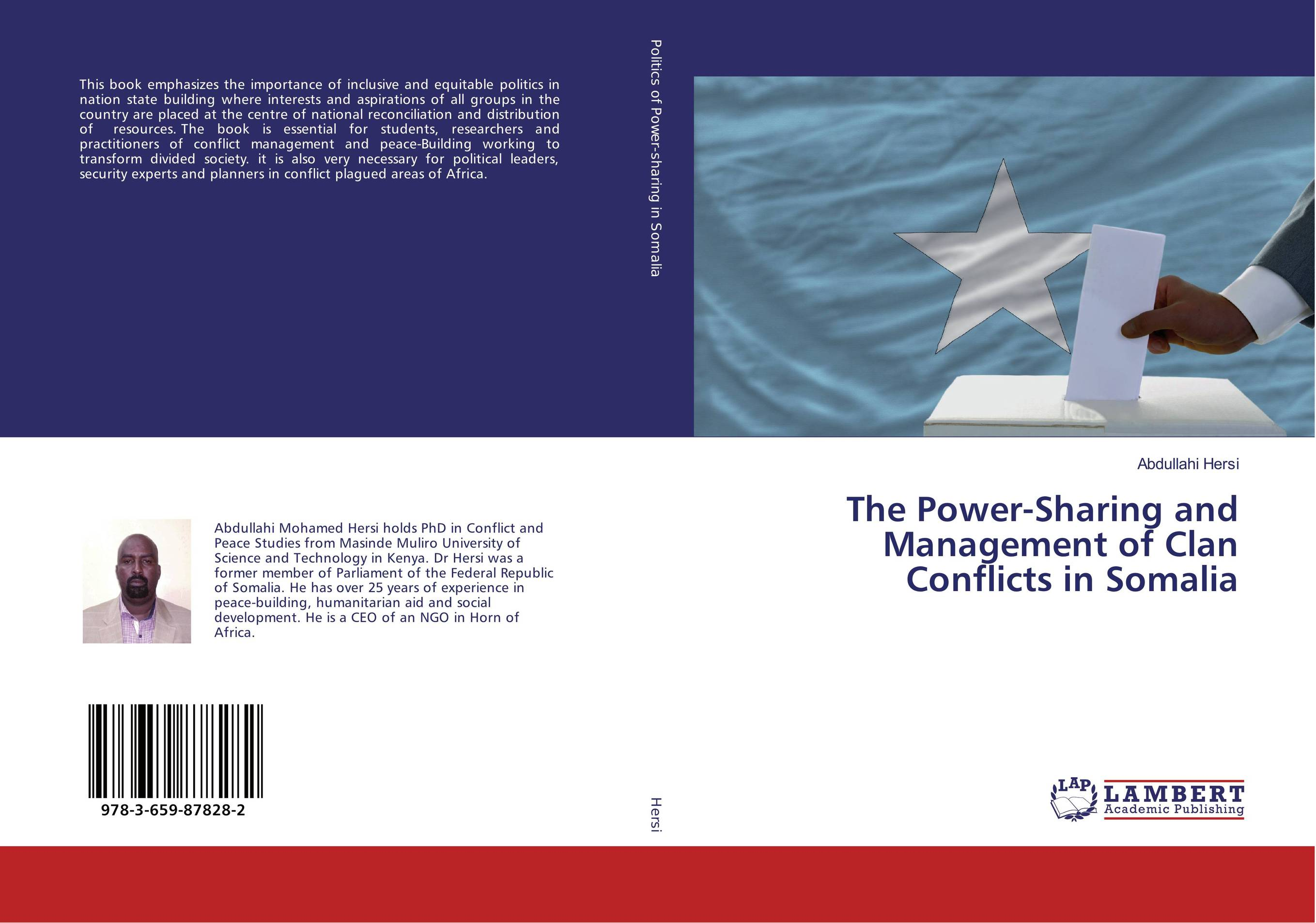 The Power-Sharing and Management of Clan Conflicts in Somalia conflicts in forest resources usage and management