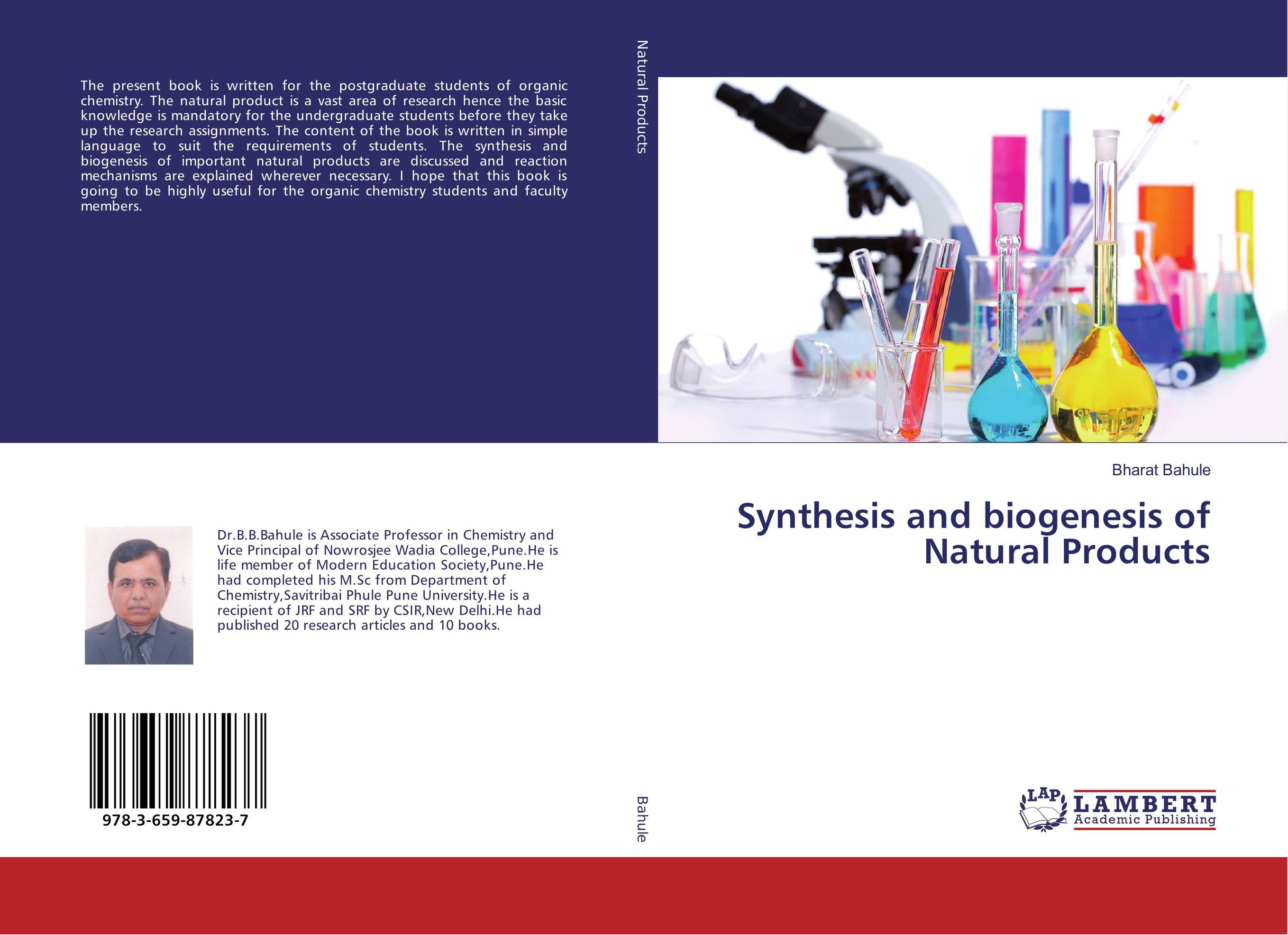 Synthesis and biogenesis of Natural Products