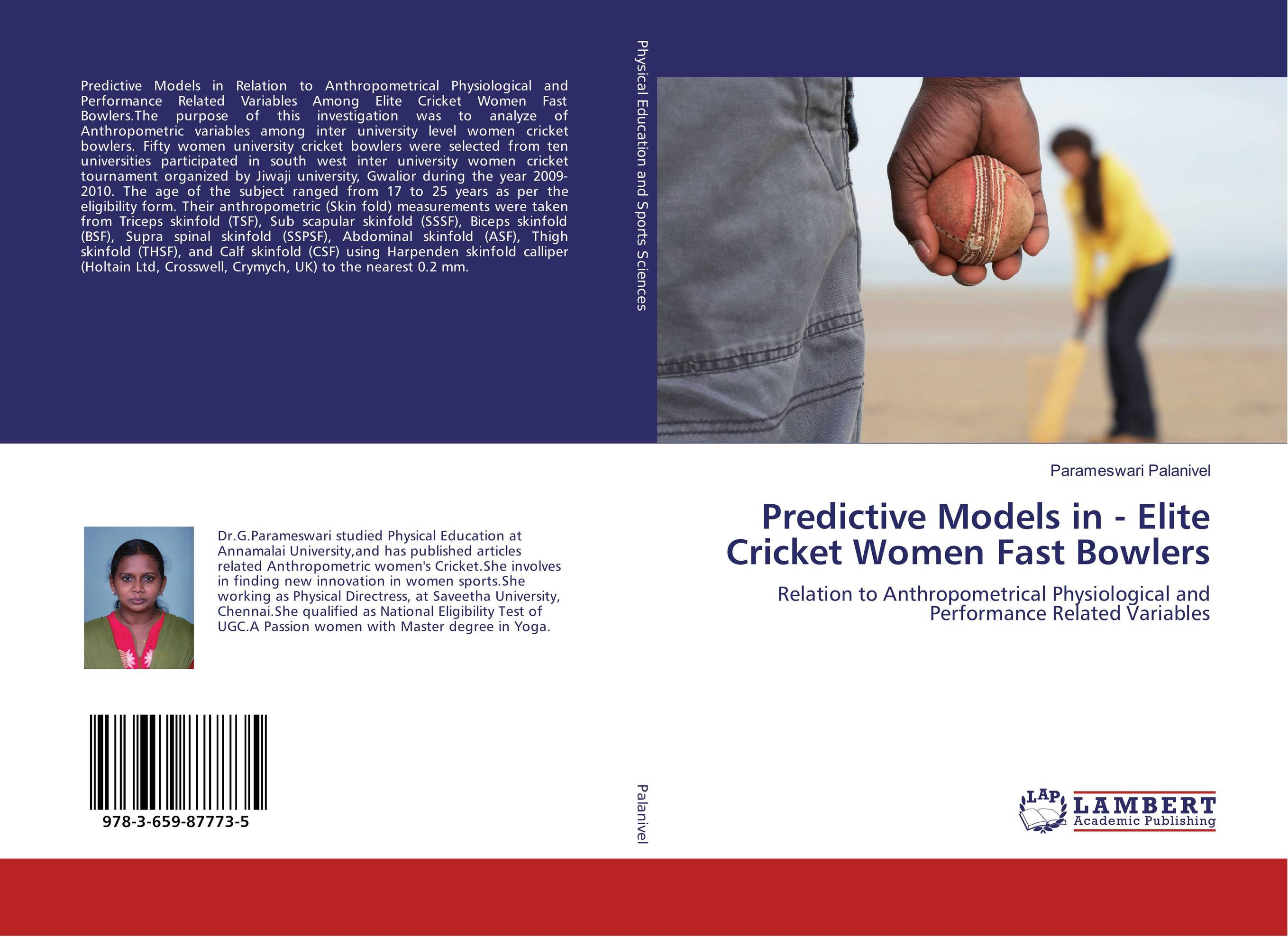 Predictive Models in - Elite Cricket Women Fast Bowlers dieting practices among ahfad university for women students