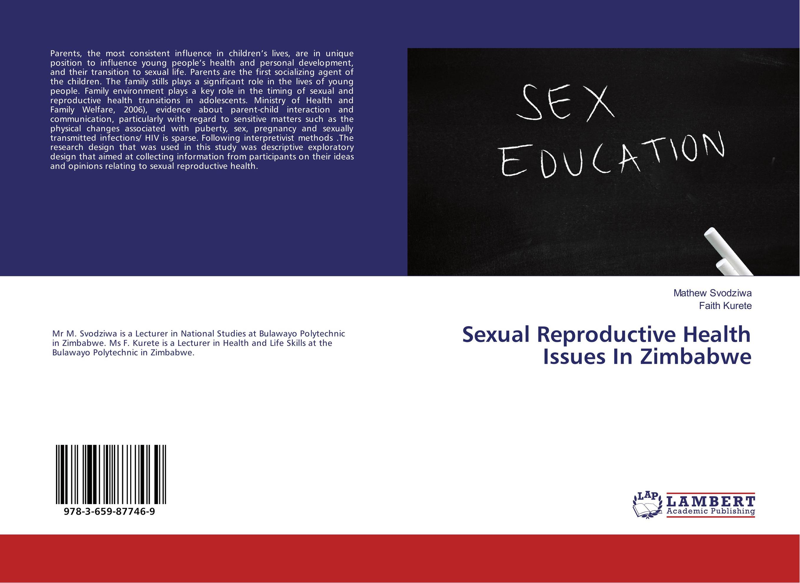 Sexual Reproductive Health Issues In Zimbabwe