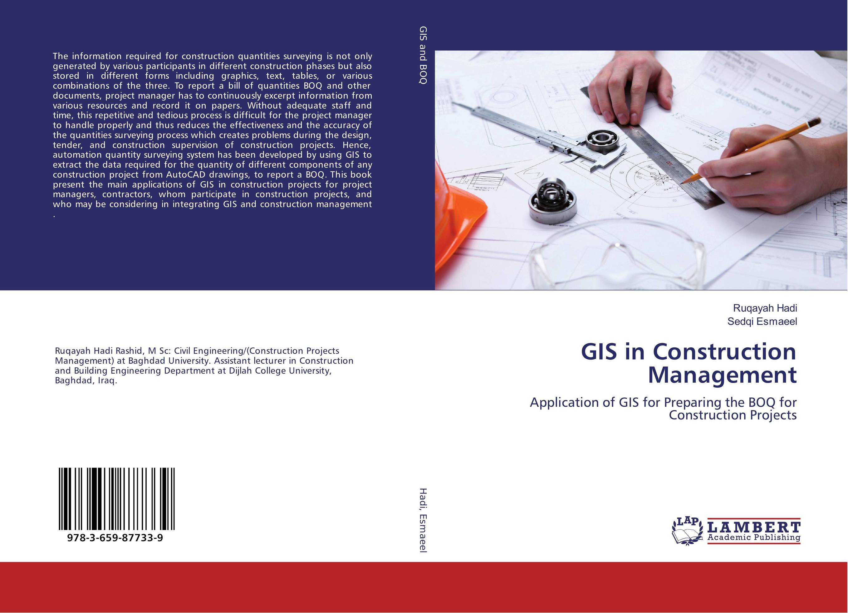 GIS in Construction Management automation in construction management