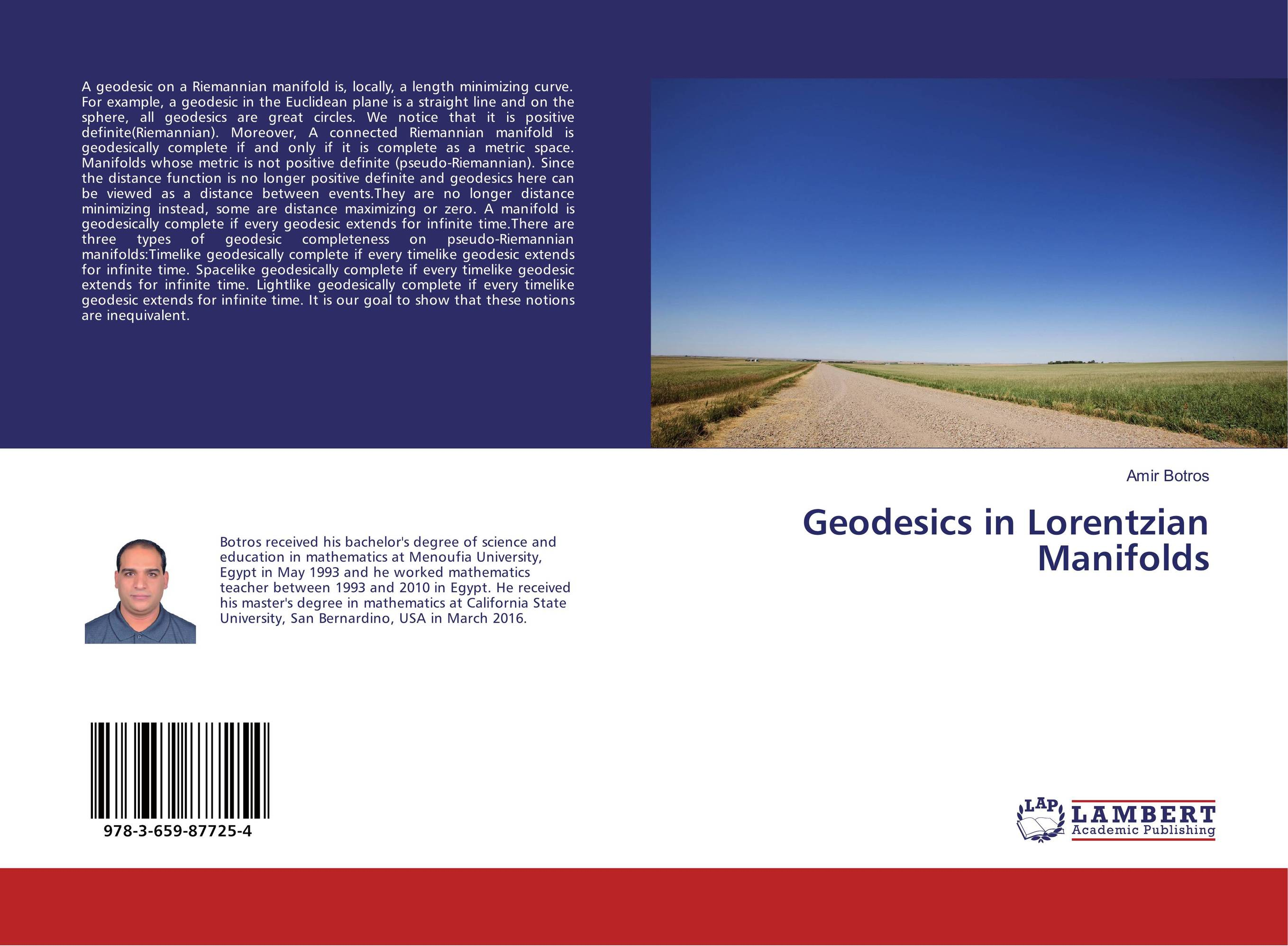 Geodesics in Lorentzian Manifolds time and space is a fiction only distance is a reality
