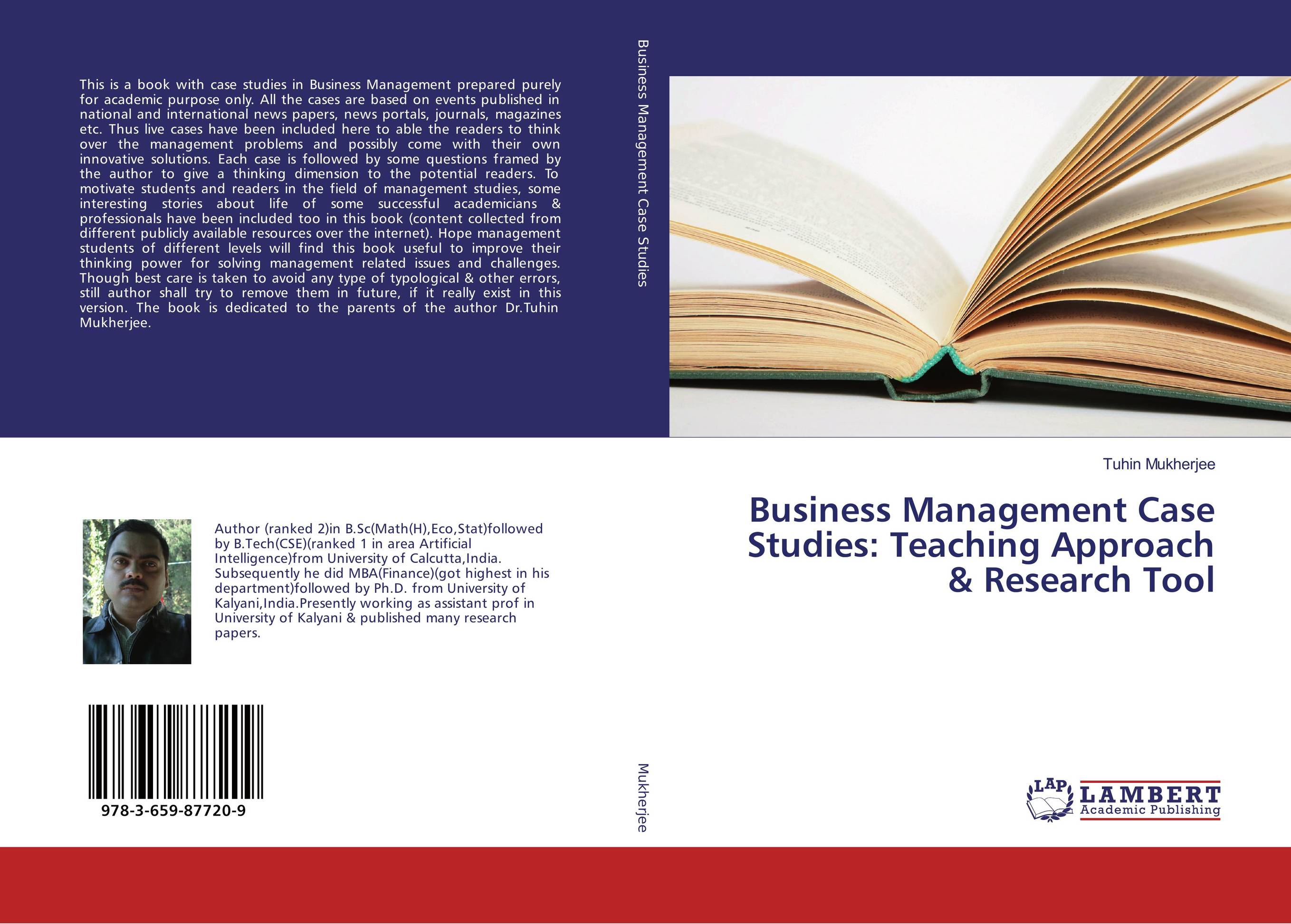Business Management Case Studies: Teaching Approach & Research Tool james sagner working capital management applications and case studies