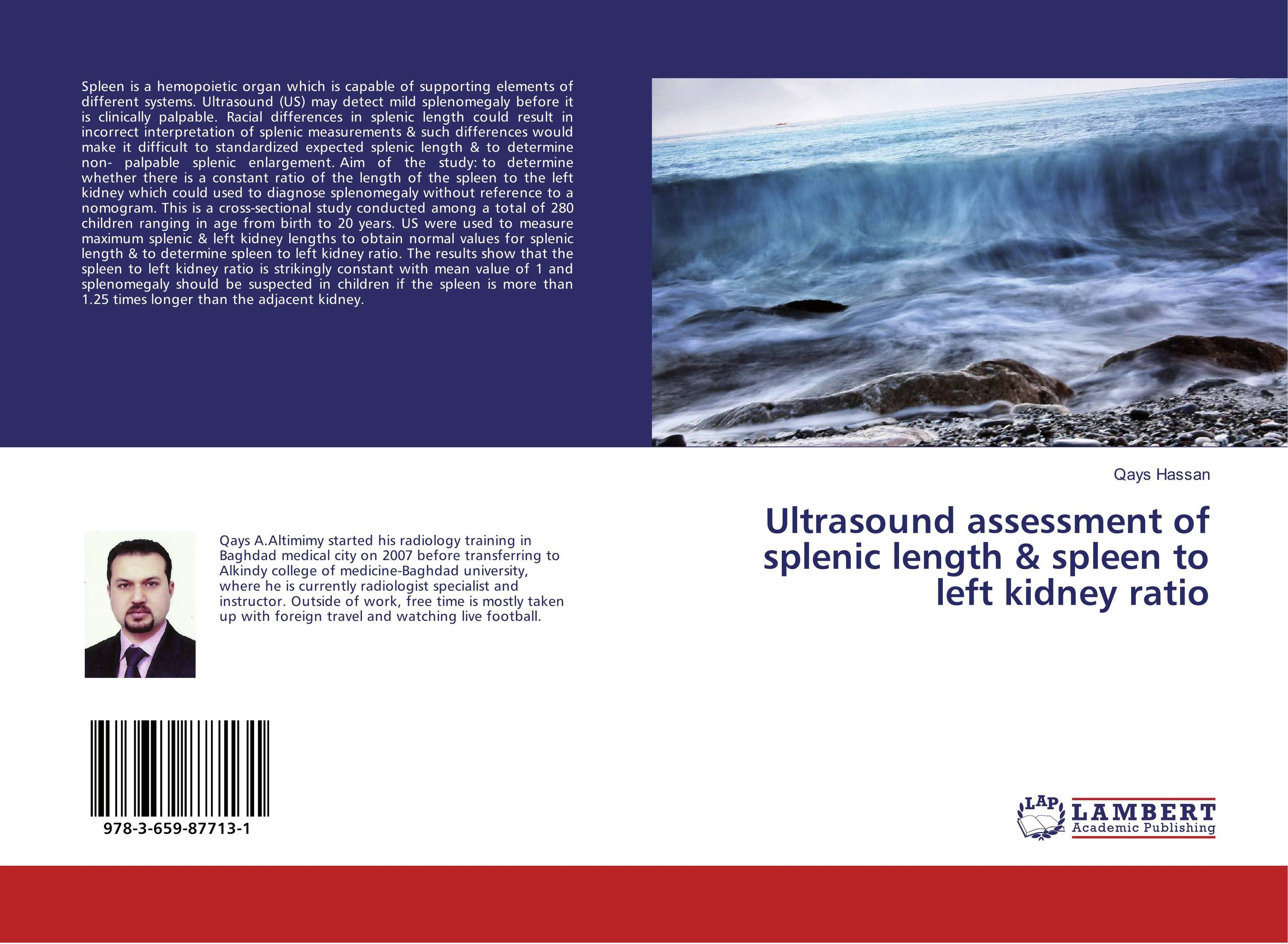 Ultrasound assessment of splenic length & spleen to left kidney ratio repacholi essentials of medical ultrasound – a p ractintro to the principles etc