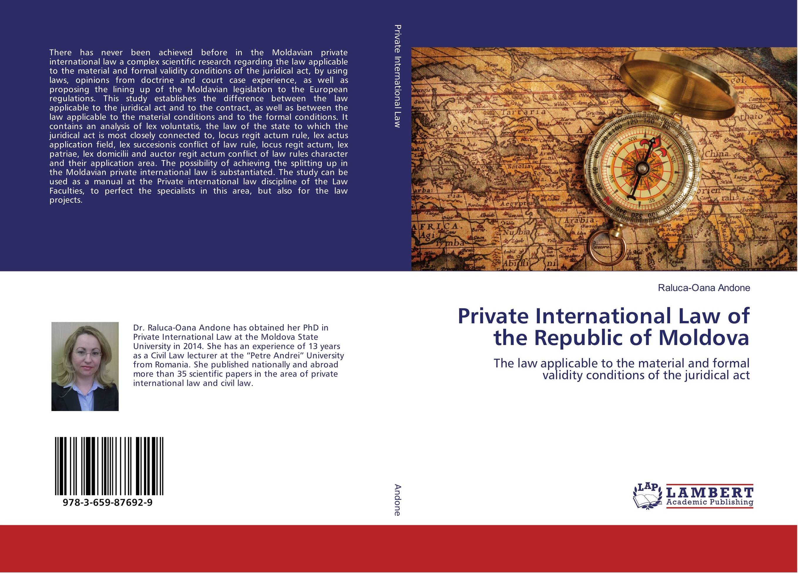 Private International Law of the Republic of Moldova