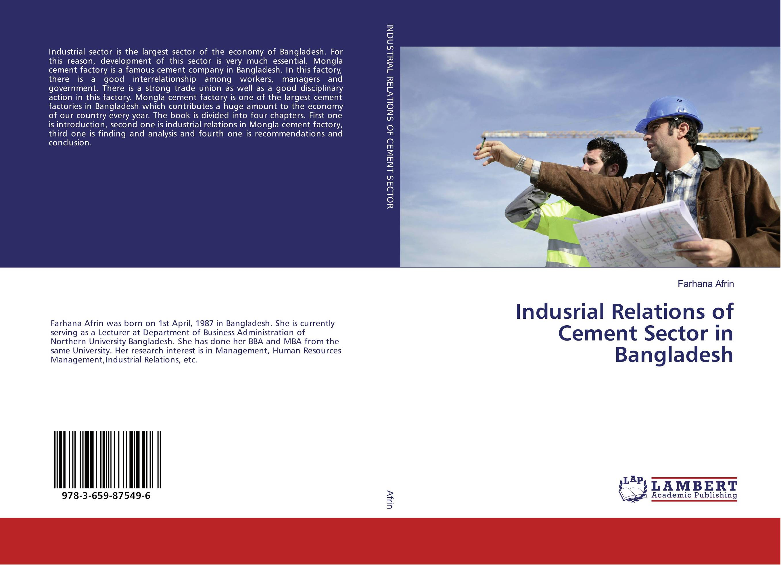 Indusrial Relations of Cement Sector in Bangladesh