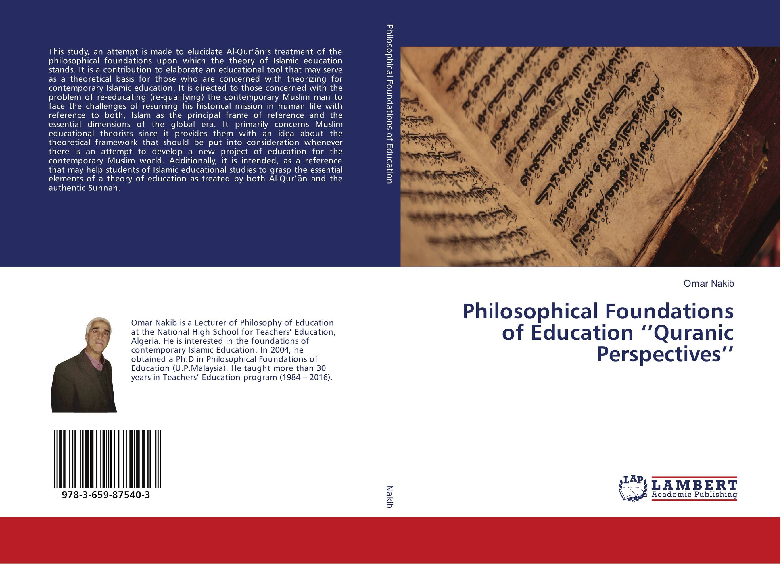 Philosophical Foundations of Education ''Quranic Perspectives''