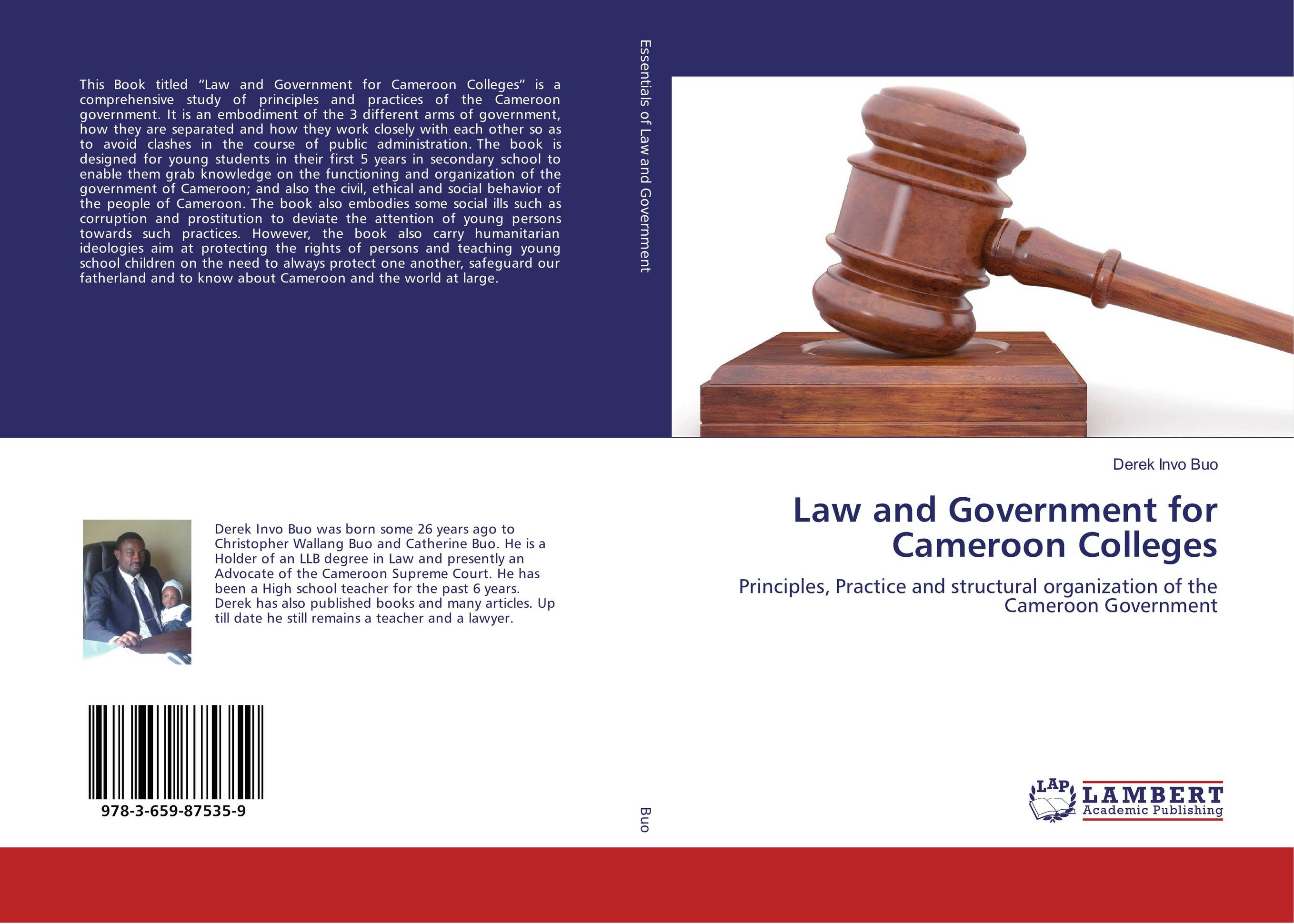 Law and Government for Cameroon Colleges alexander mishkin how to stay young it