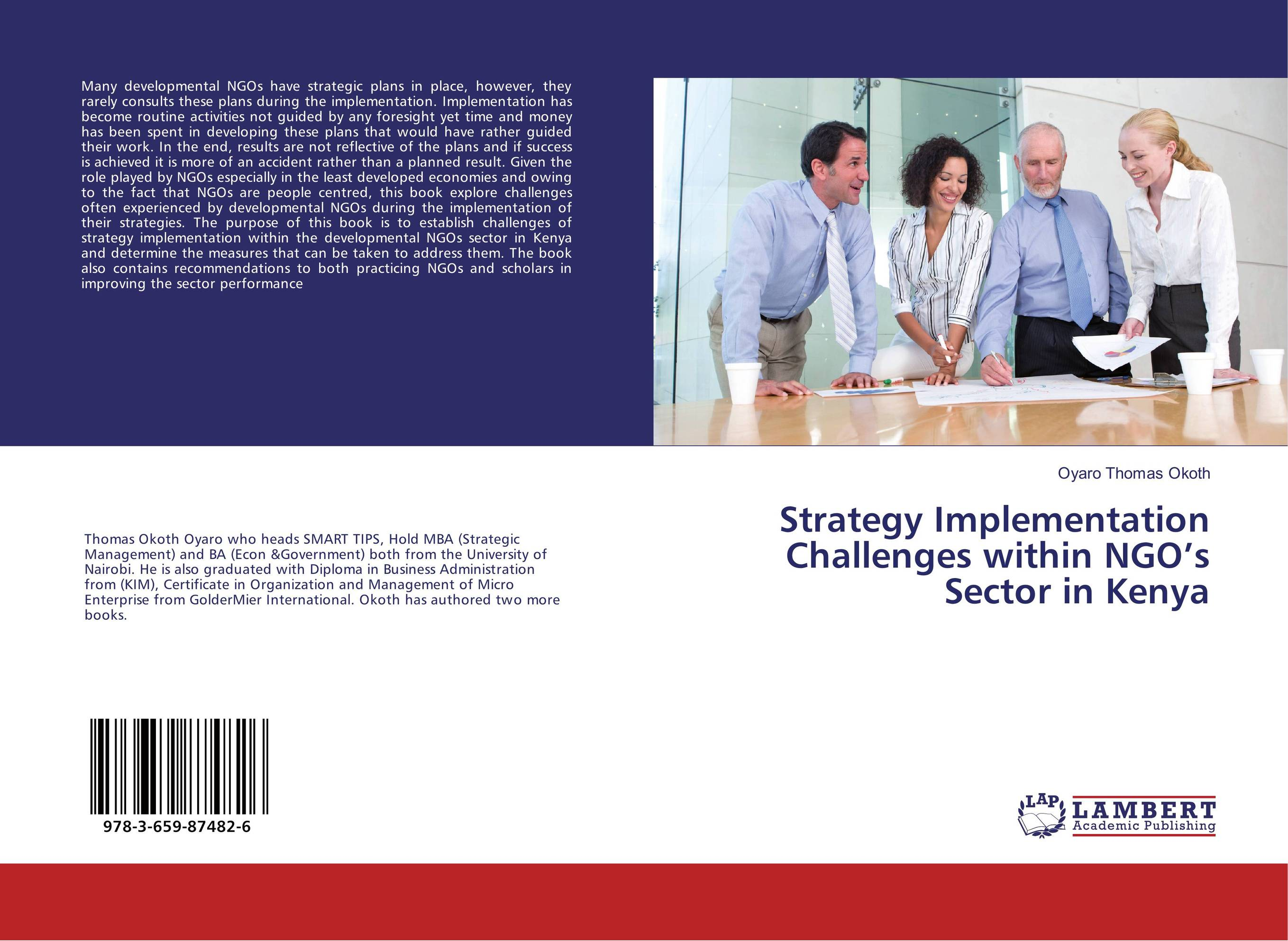 Strategy Implementation Challenges within NGO's Sector in Kenya implementation of strategic plans
