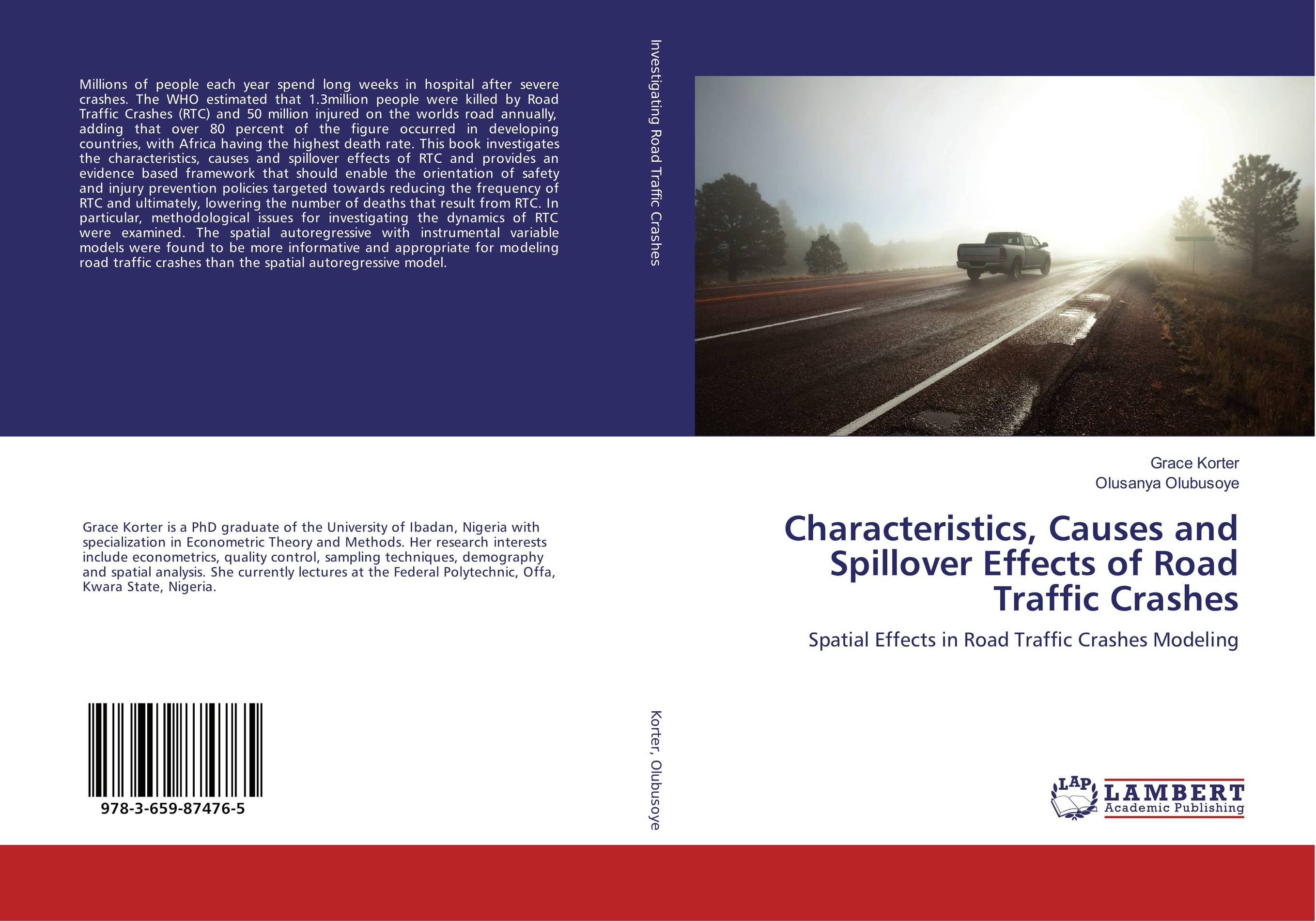 Characteristics, Causes and Spillover Effects of Road Traffic Crashes
