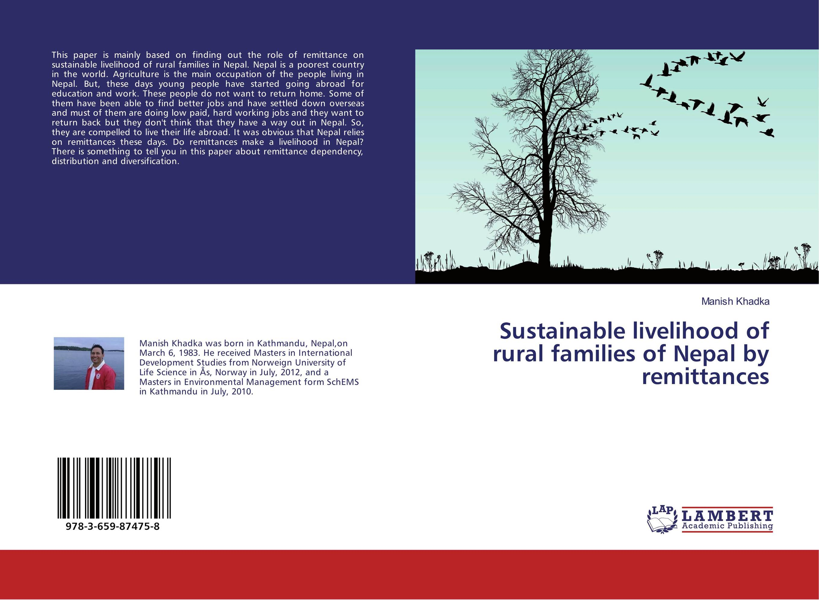 Sustainable livelihood of rural families of Nepal by remittances