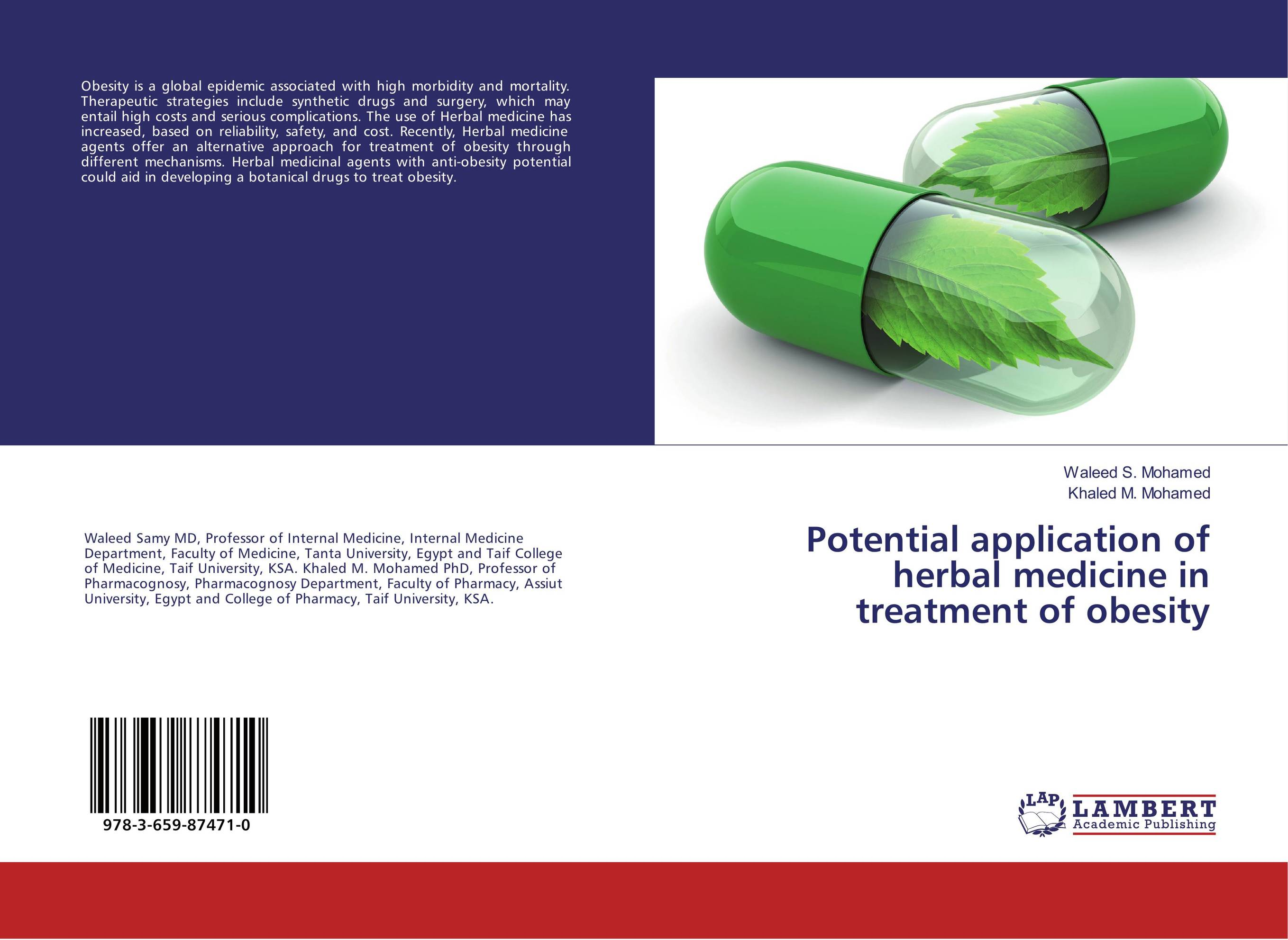 Potential application of herbal medicine in treatment of obesity pharmacognostic study of nigerian herbal drugs of importance