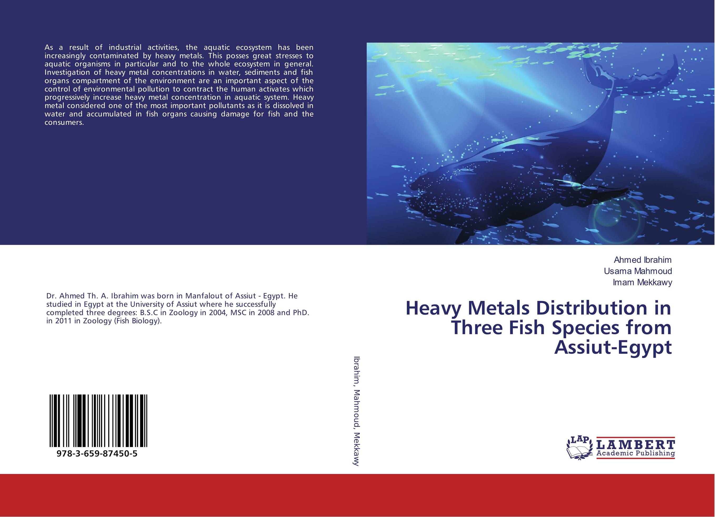 Heavy Metals Distribution in Three Fish Species from Assiut-Egypt robert mason p trace metals in aquatic systems