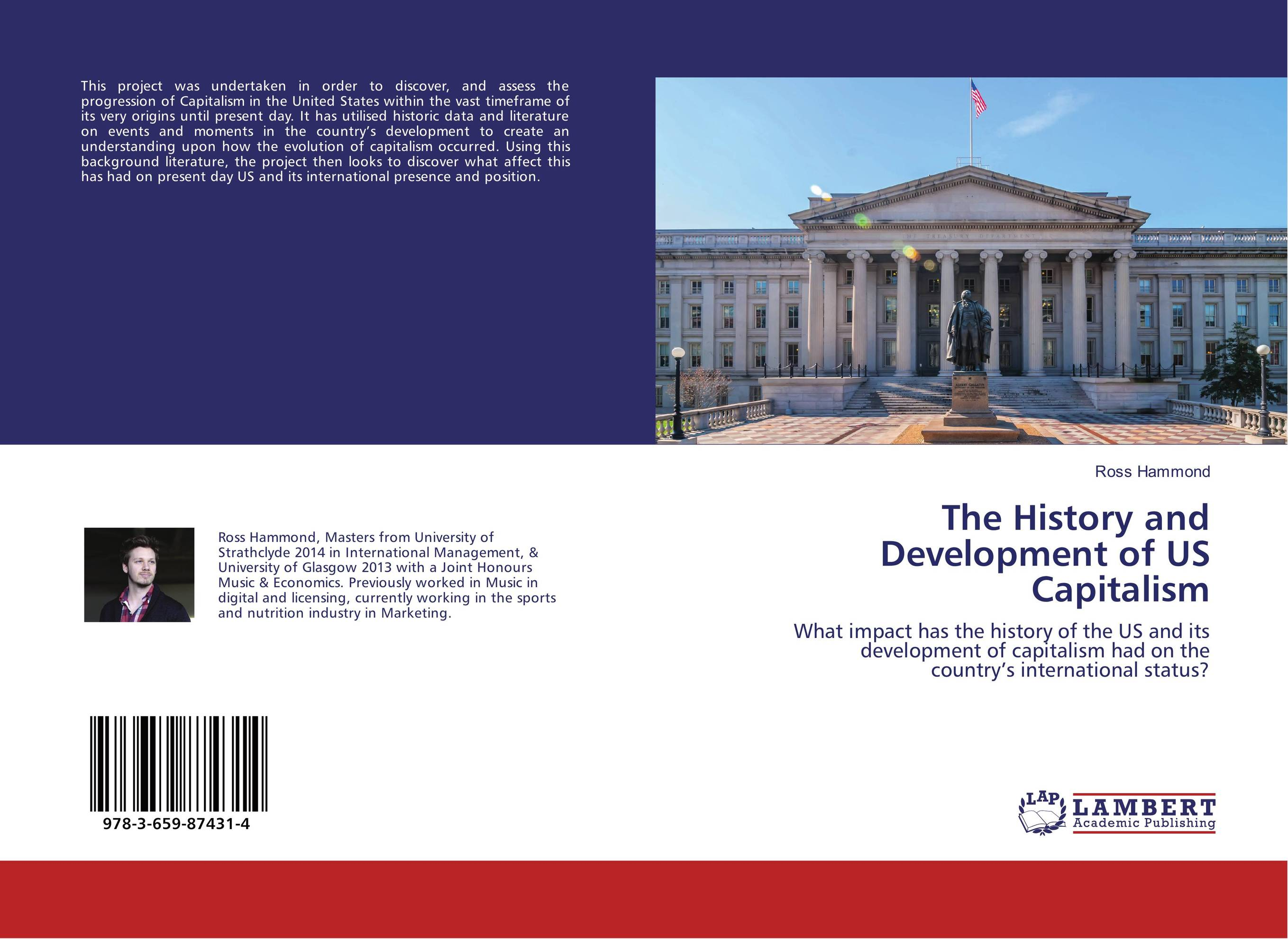 The History and Development of US Capitalism evolution development within big history evolutionary and world system paradigms