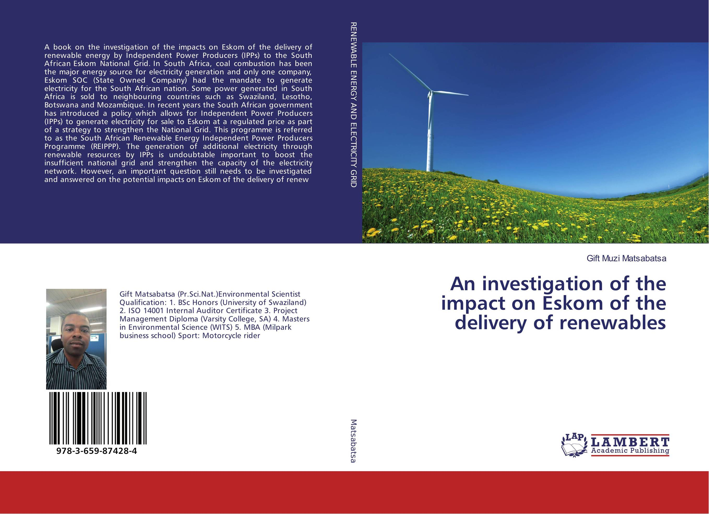 An investigation of the impact on Eskom of the delivery of renewables arcade ndoricimpa inflation output growth and their uncertainties in south africa empirical evidence from an asymmetric multivariate garch m model