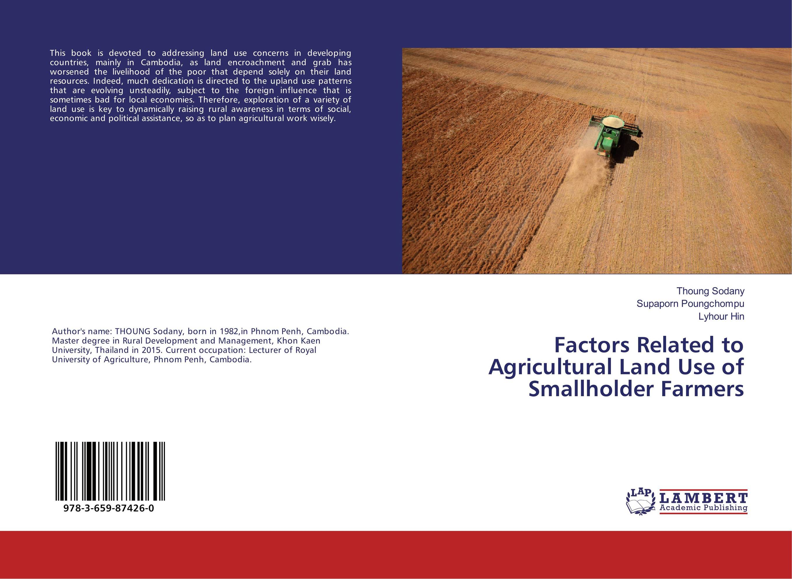 Factors Related to Agricultural Land Use of Smallholder Farmers land suitability evaluation for principal agricultural crops