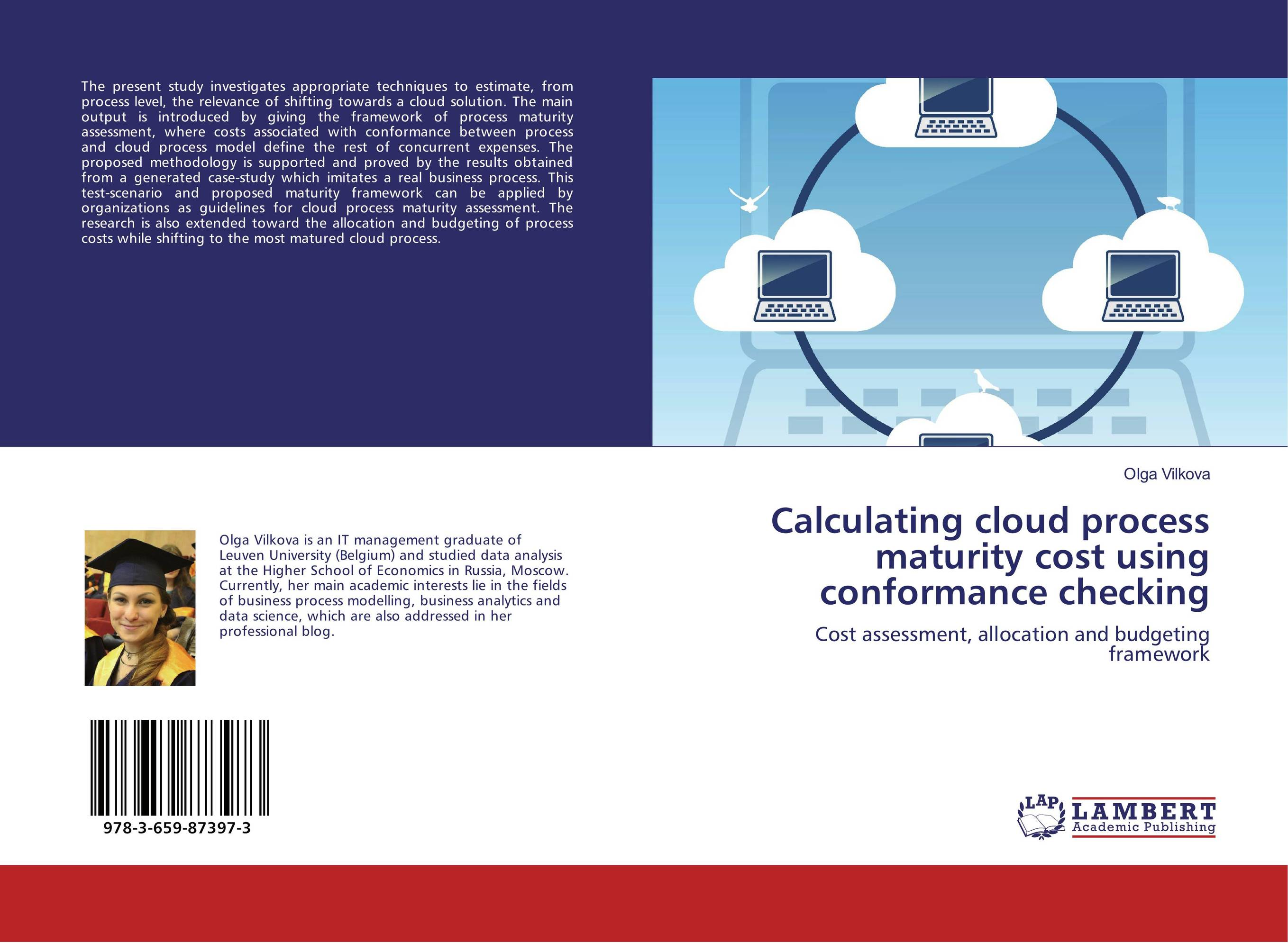 Calculating cloud process maturity cost using conformance checking
