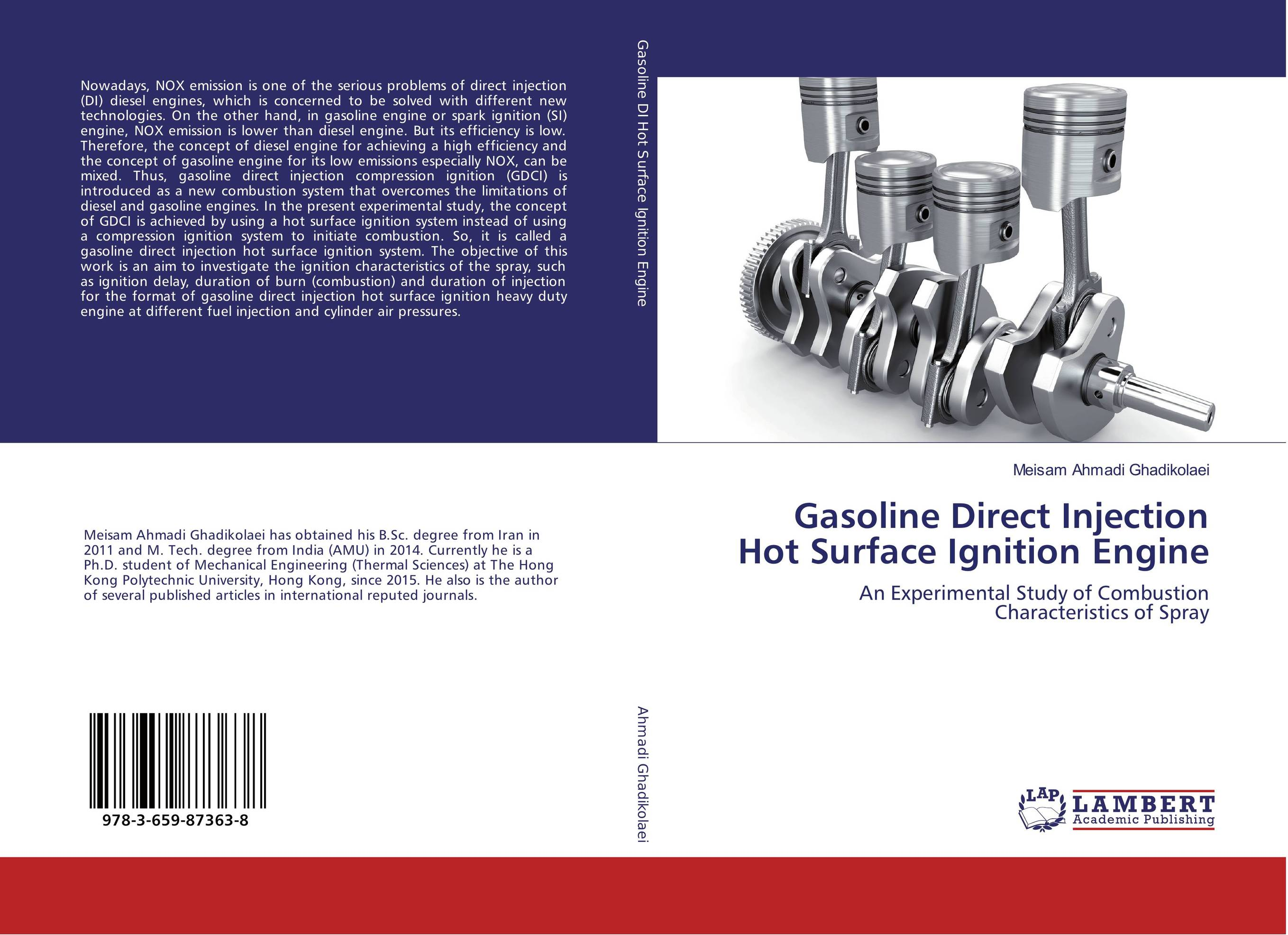 Gasoline Direct Injection Hot Surface Ignition Engine