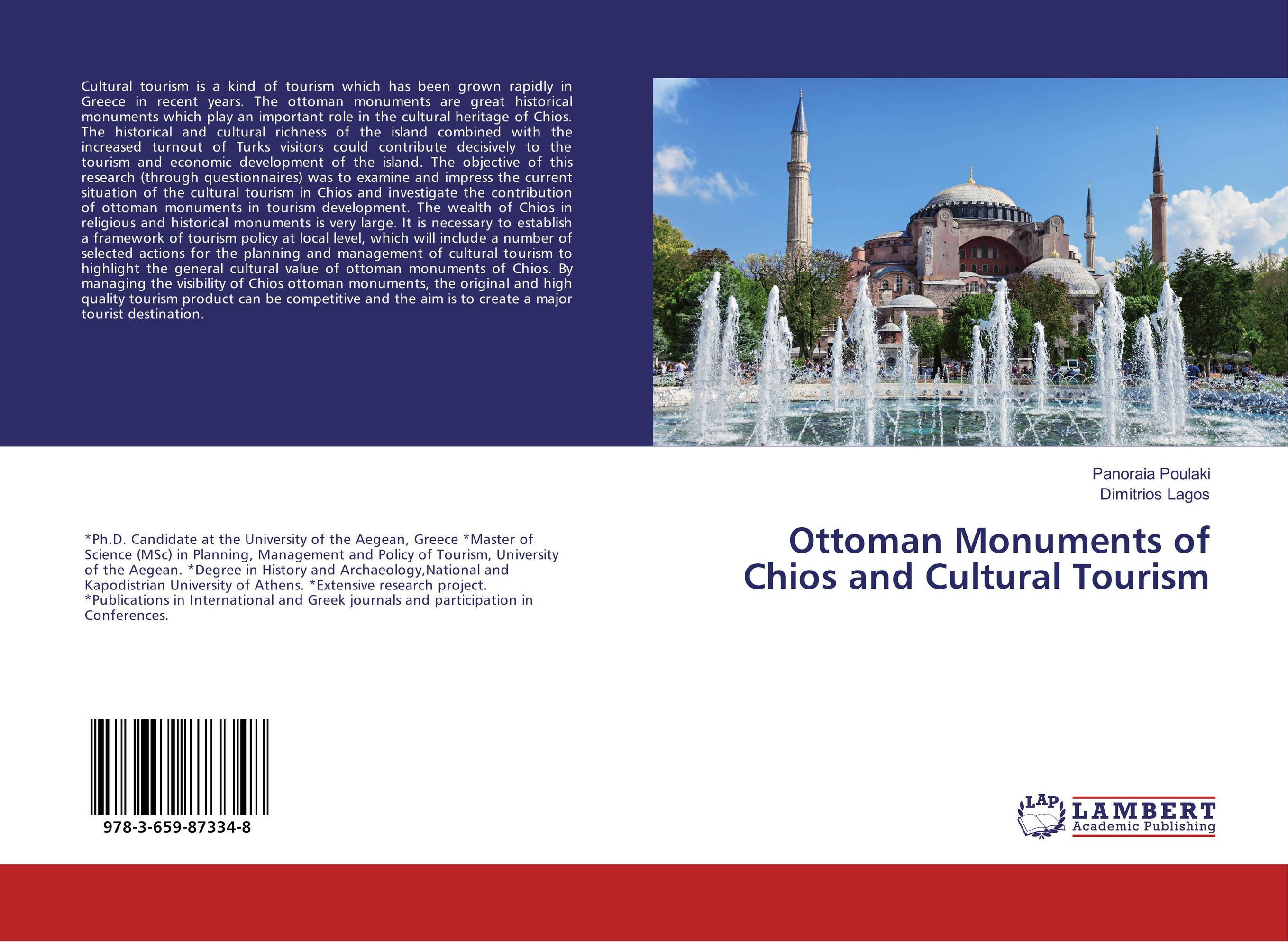 Ottoman Monuments of Chios and Cultural Tourism