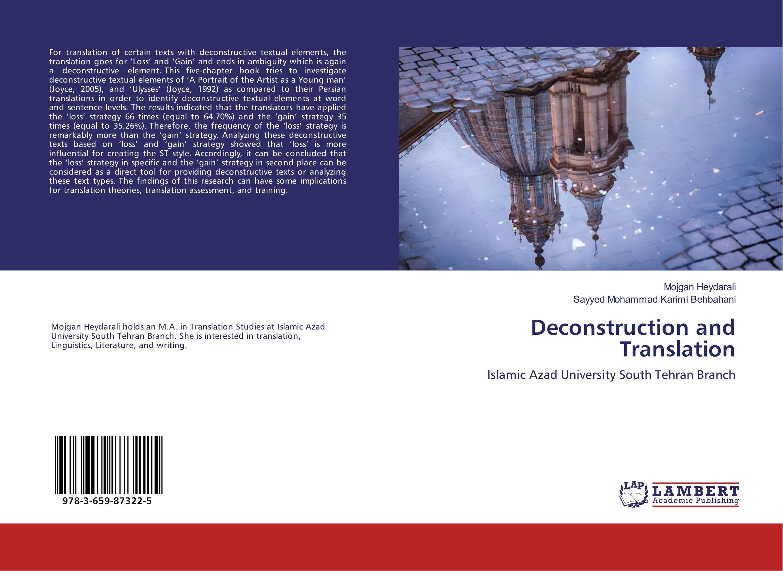 Deconstruction and Translation deconstruction and translation