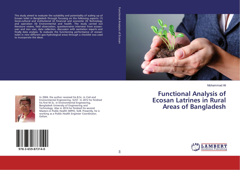 Functional Analysis of Ecosan Latrines in Rural Areas of Bangladesh кальсоны user кальсоны