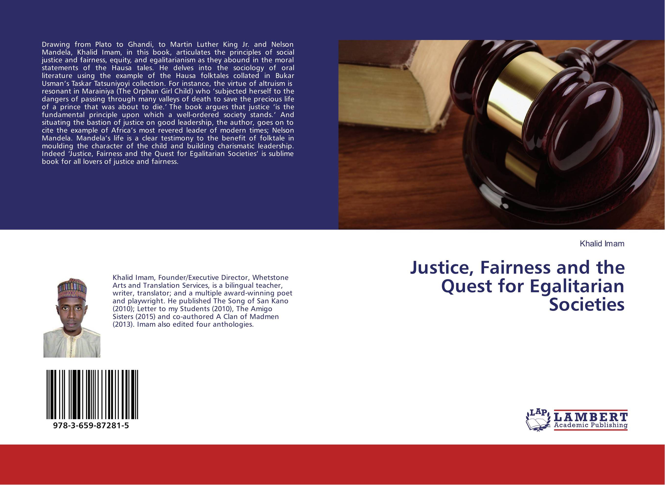 Justice, Fairness and the Quest for Egalitarian Societies cite marilou
