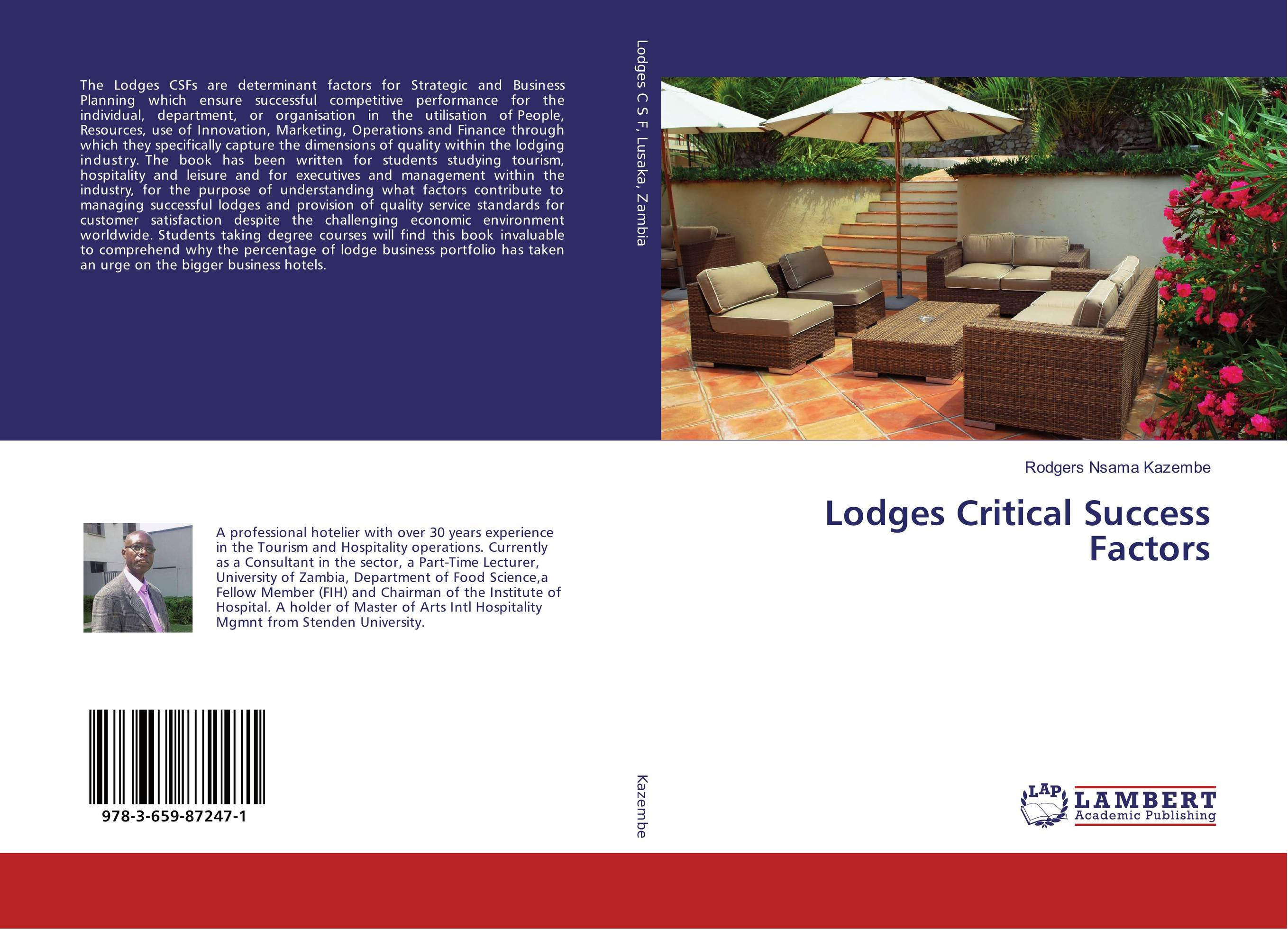Lodges Critical Success Factors managing the store