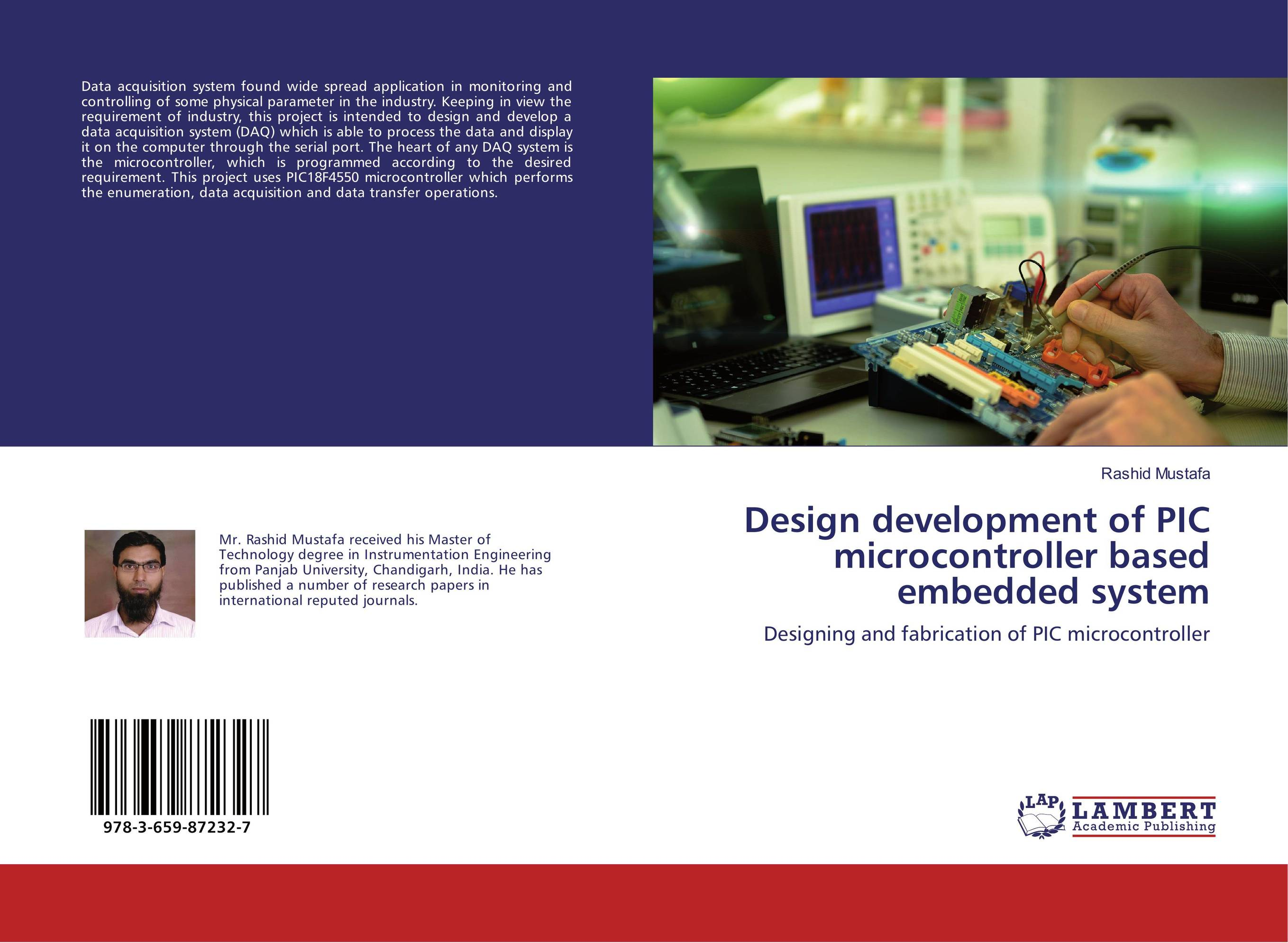 Design development of PIC microcontroller based embedded system