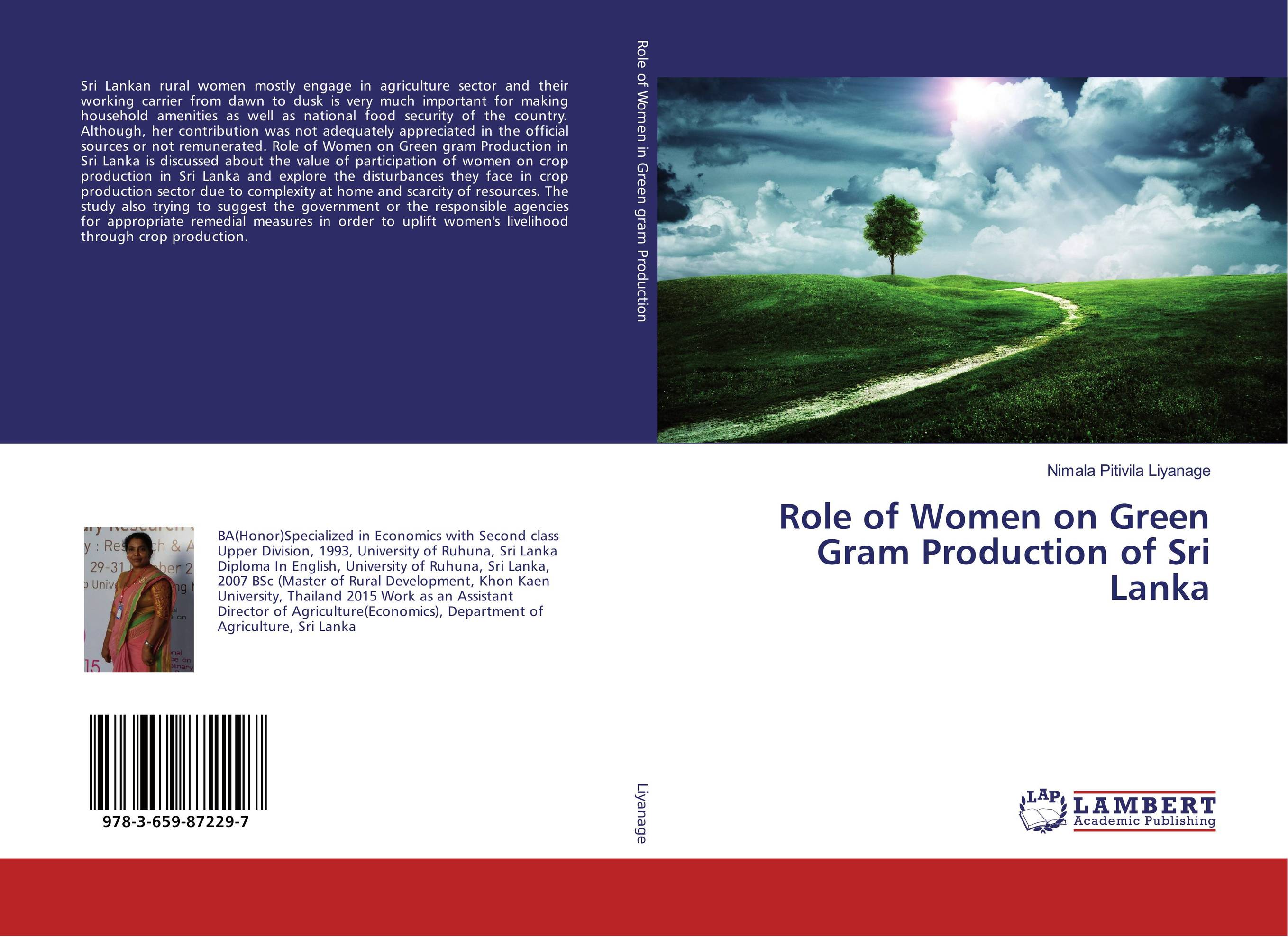 Role of Women on Green Gram Production of Sri Lanka opportunities for and constraints on crop production