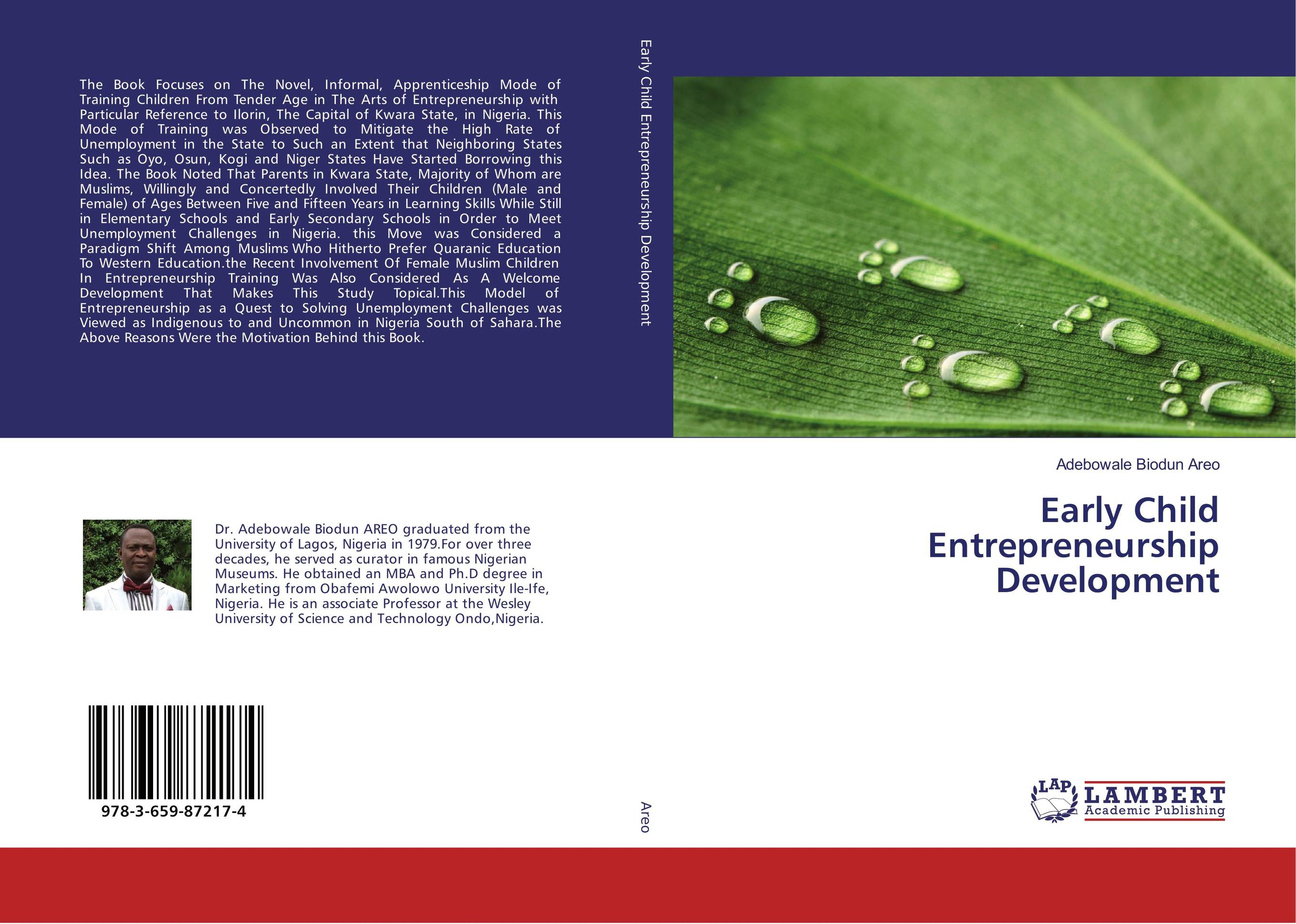 Early Child Entrepreneurship Development