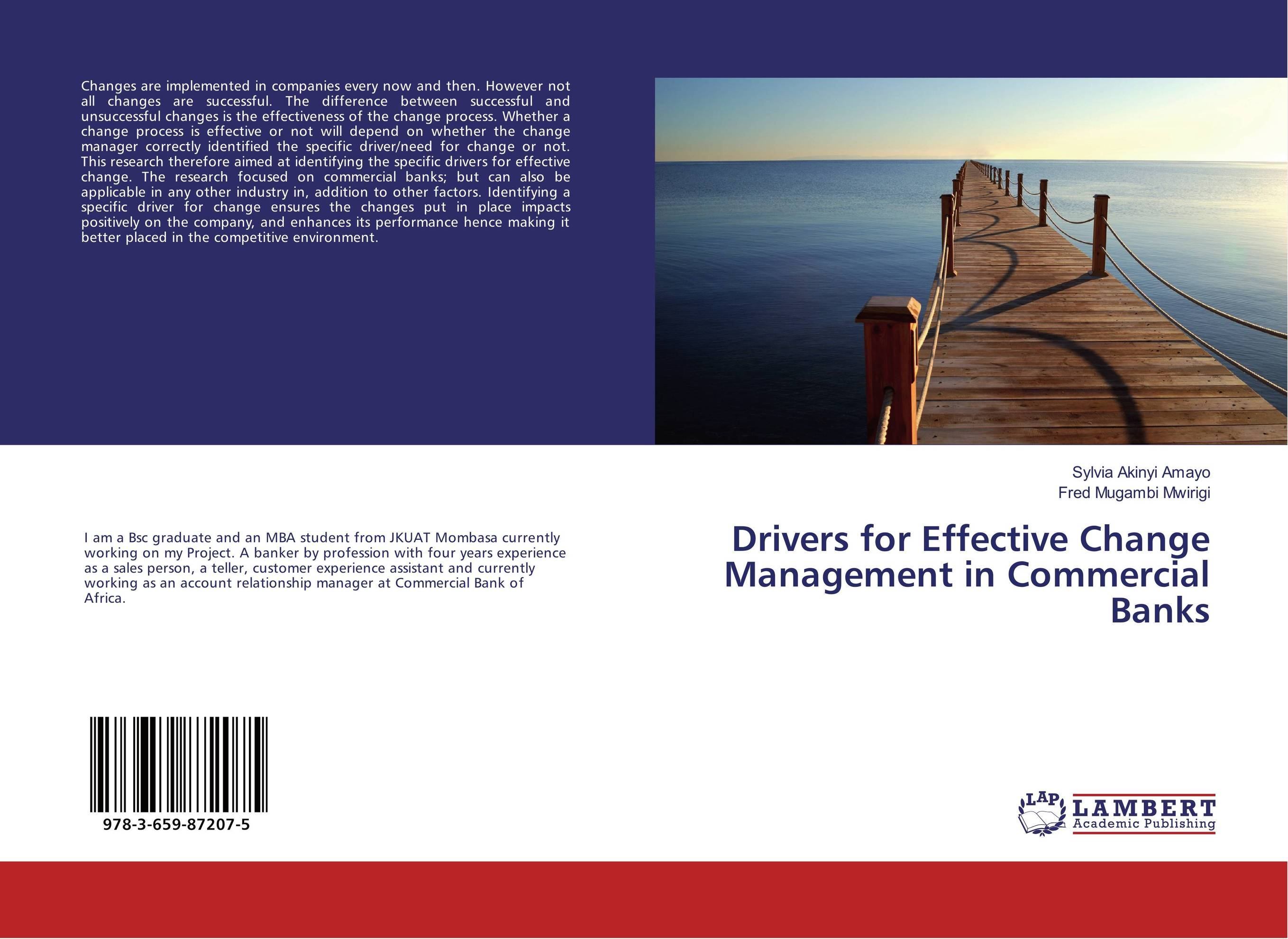 Drivers for Effective Change Management in Commercial Banks dirk zeller effective time management in a day for dummies