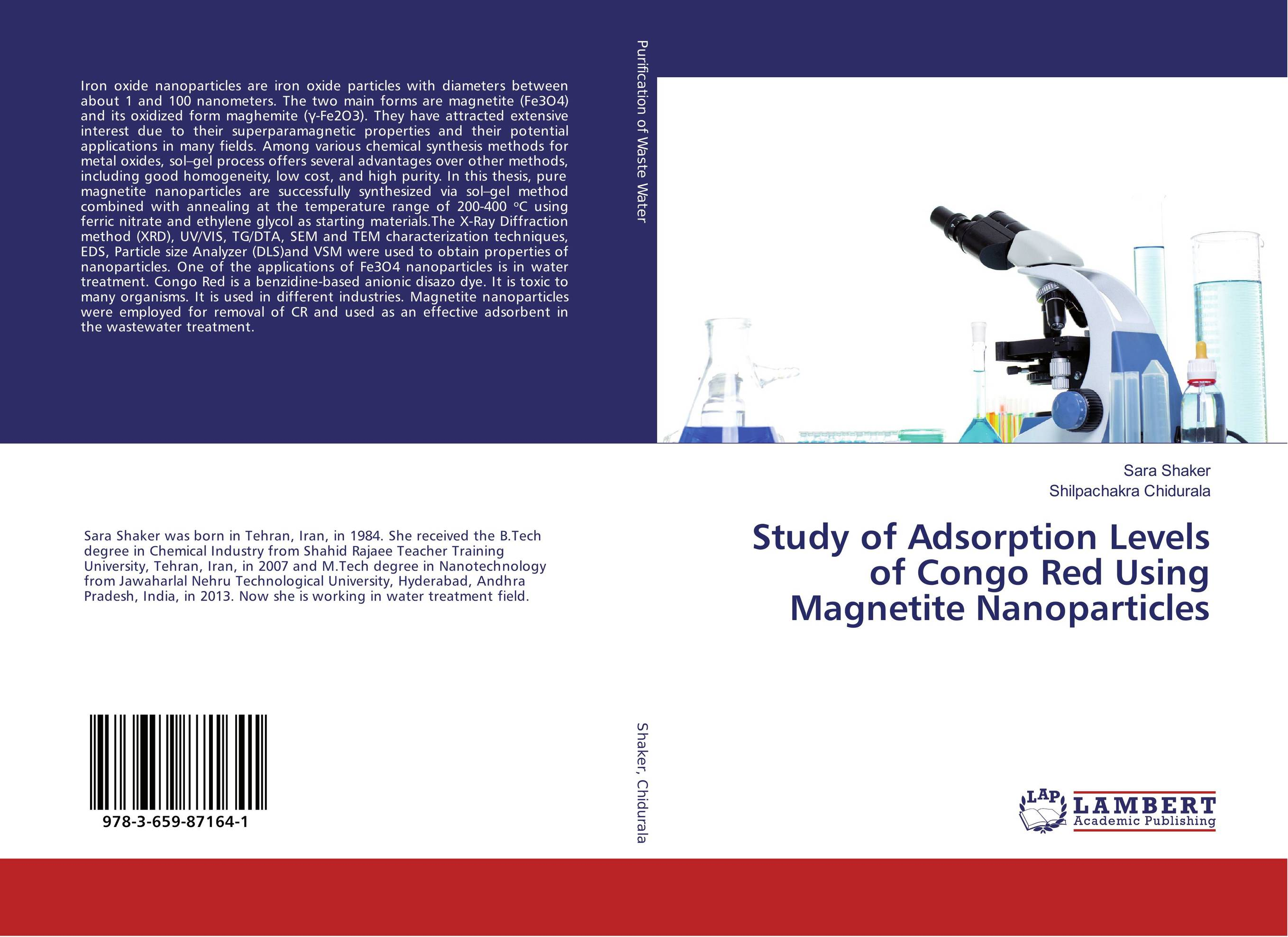 Study of Adsorption Levels of Congo Red Using Magnetite Nanoparticles green synthesis of magnetite and silver nanoparticles