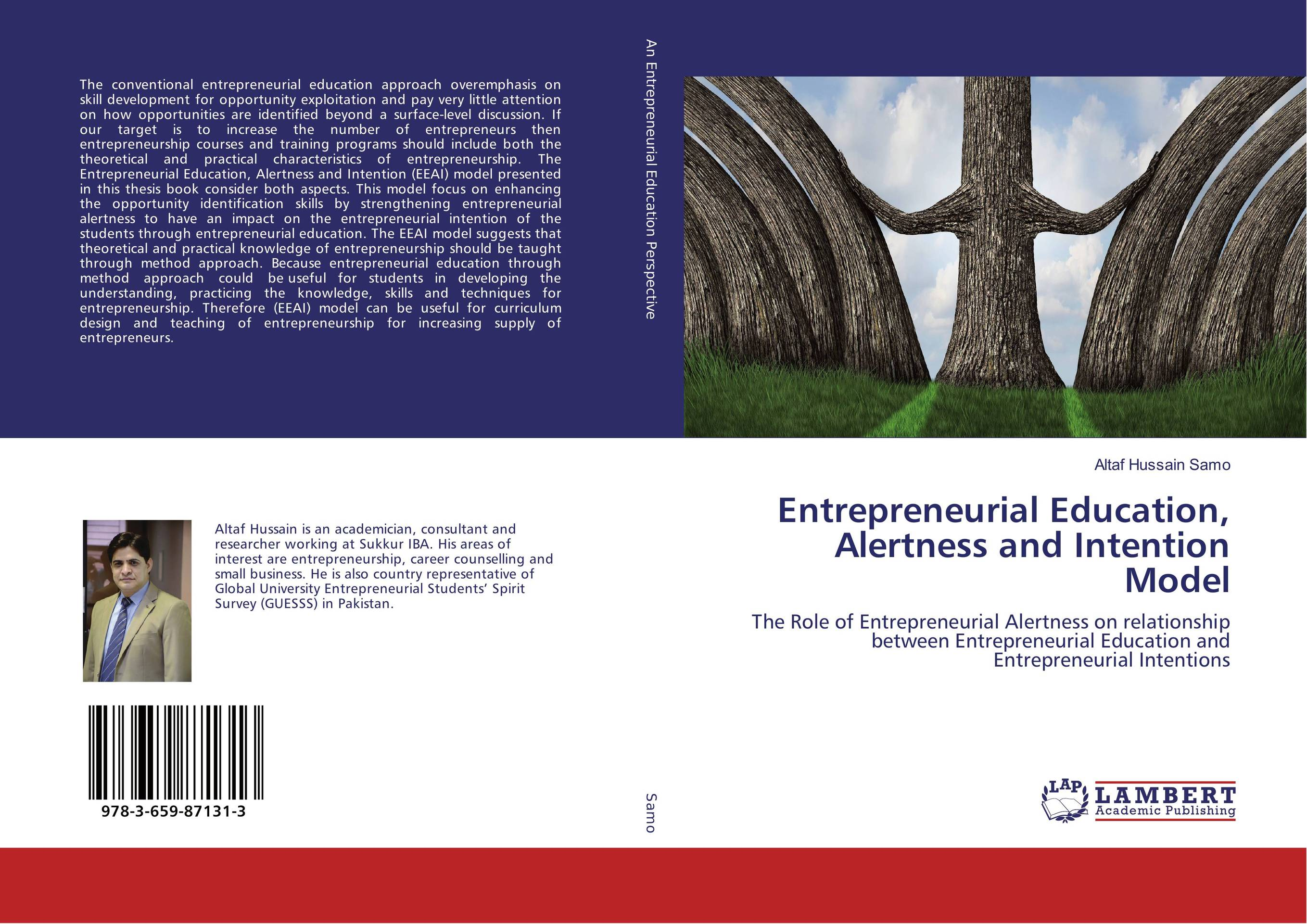 Entrepreneurial Education, Alertness and Intention Model n giusti diffuse entrepreneurship and the very heart of made in italy for fashion and luxury goods