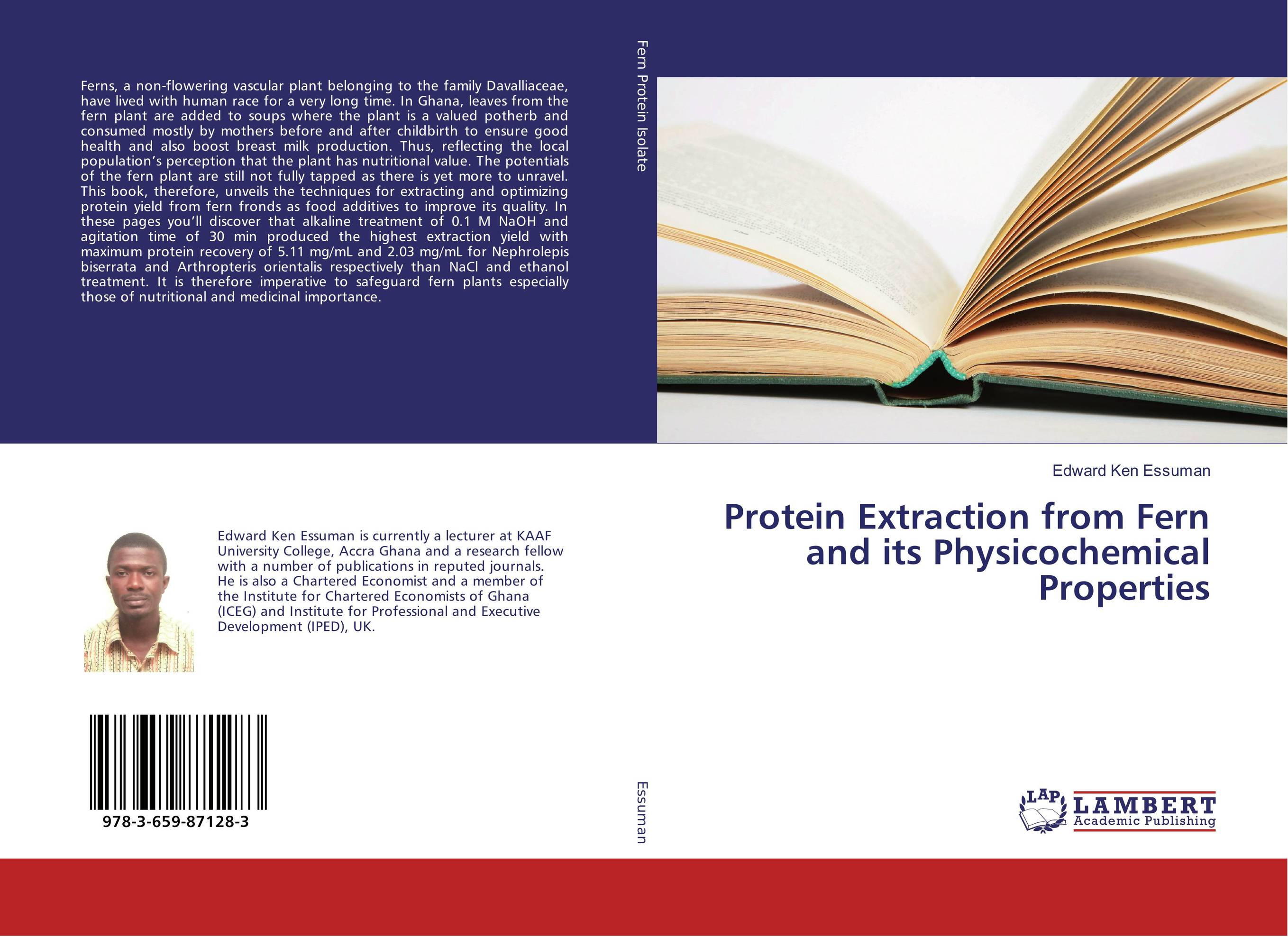 Protein Extraction from Fern and its Physicochemical Properties protein extraction from fern and its physicochemical properties