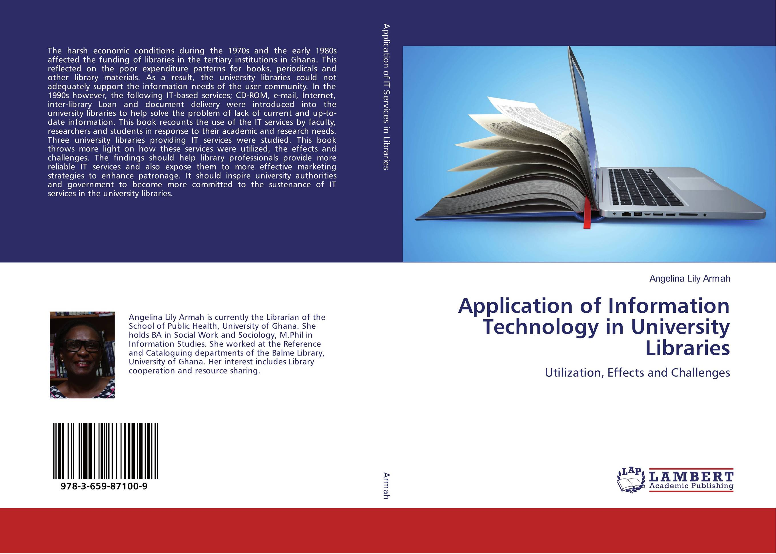 Application of Information Technology in University Libraries the application of global ethics to solve local improprieties