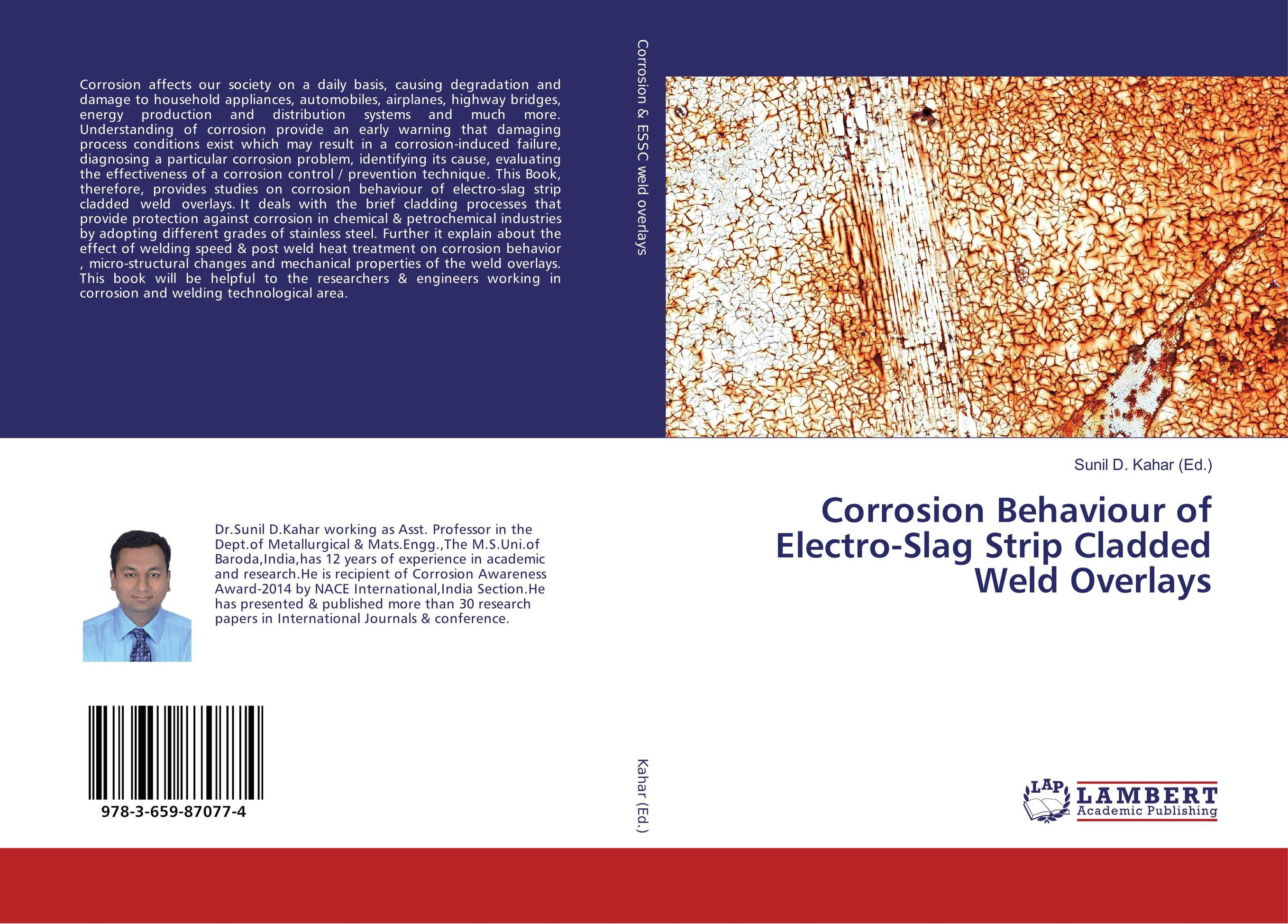 Corrosion Behaviour of Electro-Slag Strip Cladded Weld Overlays