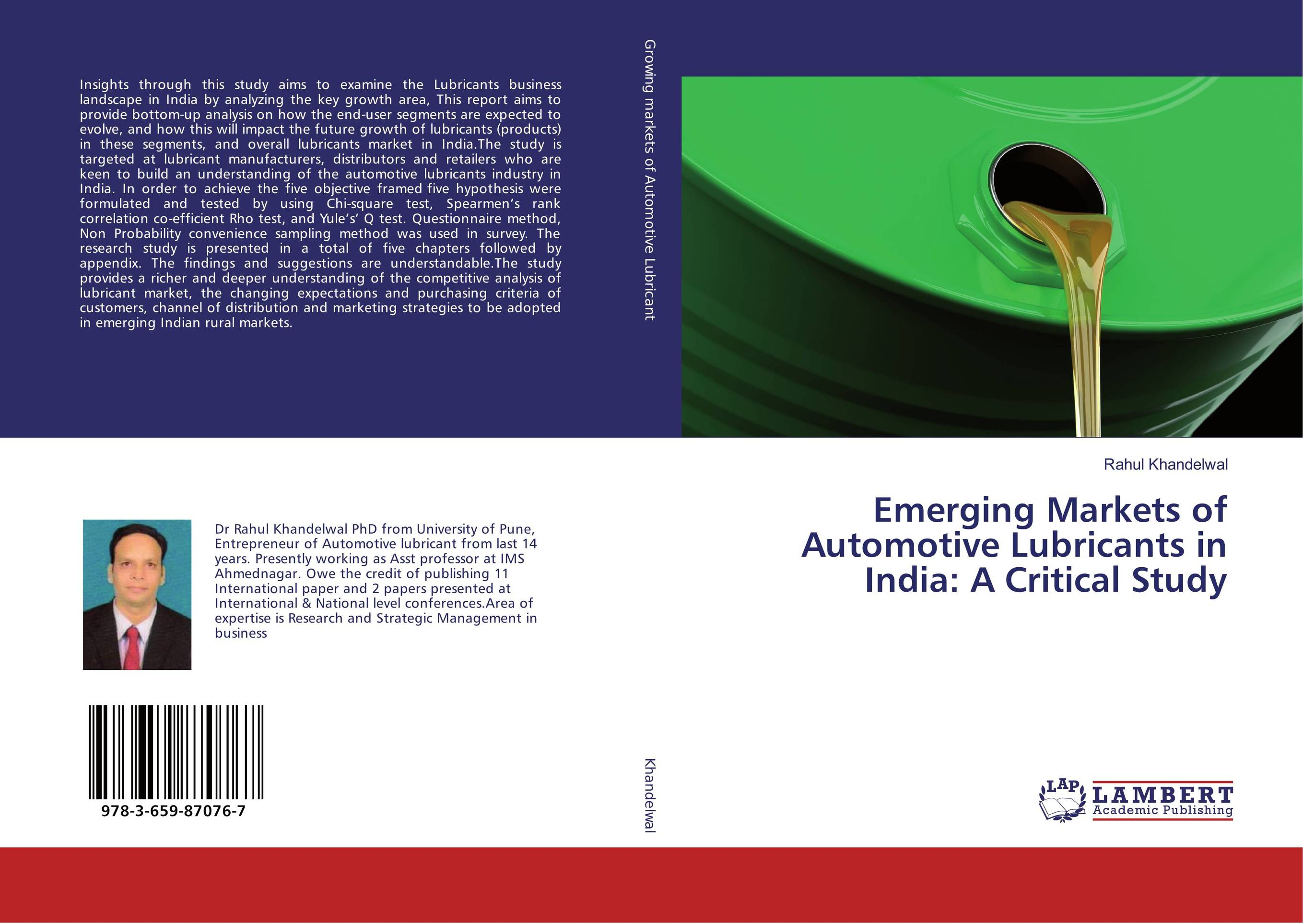 Emerging Markets of Automotive Lubricants in India: A Critical Study deepita chakravarty expansion of markets and women workers in india