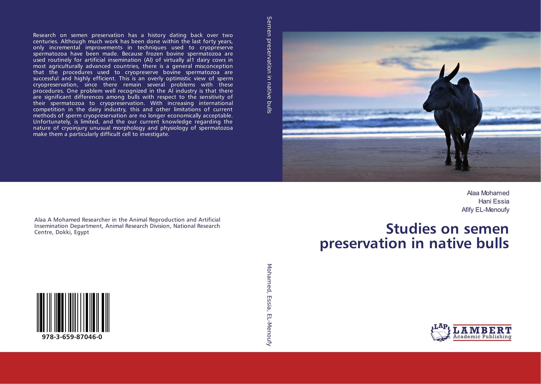Studies on semen preservation in native bulls