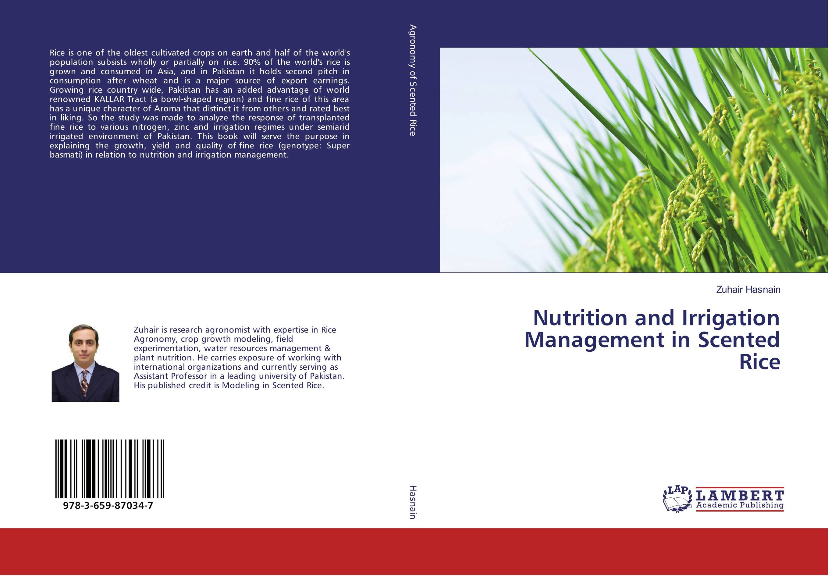 Nutrition and Irrigation Management in Scented Rice natural enemy fauna in rice wheat system of india