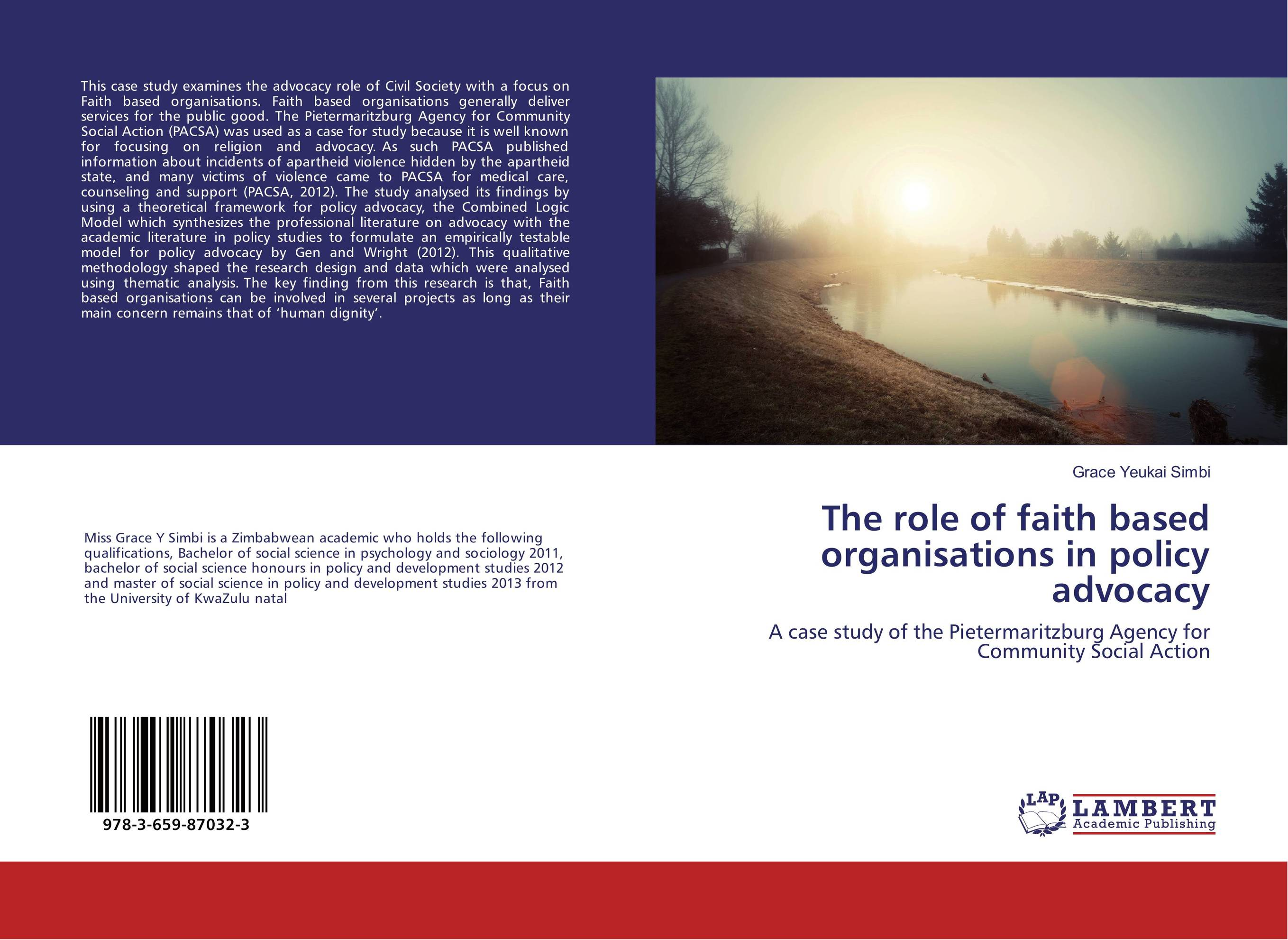 The role of faith based organisations in policy advocacy jane mcloughlin faith based organisations in new zealand