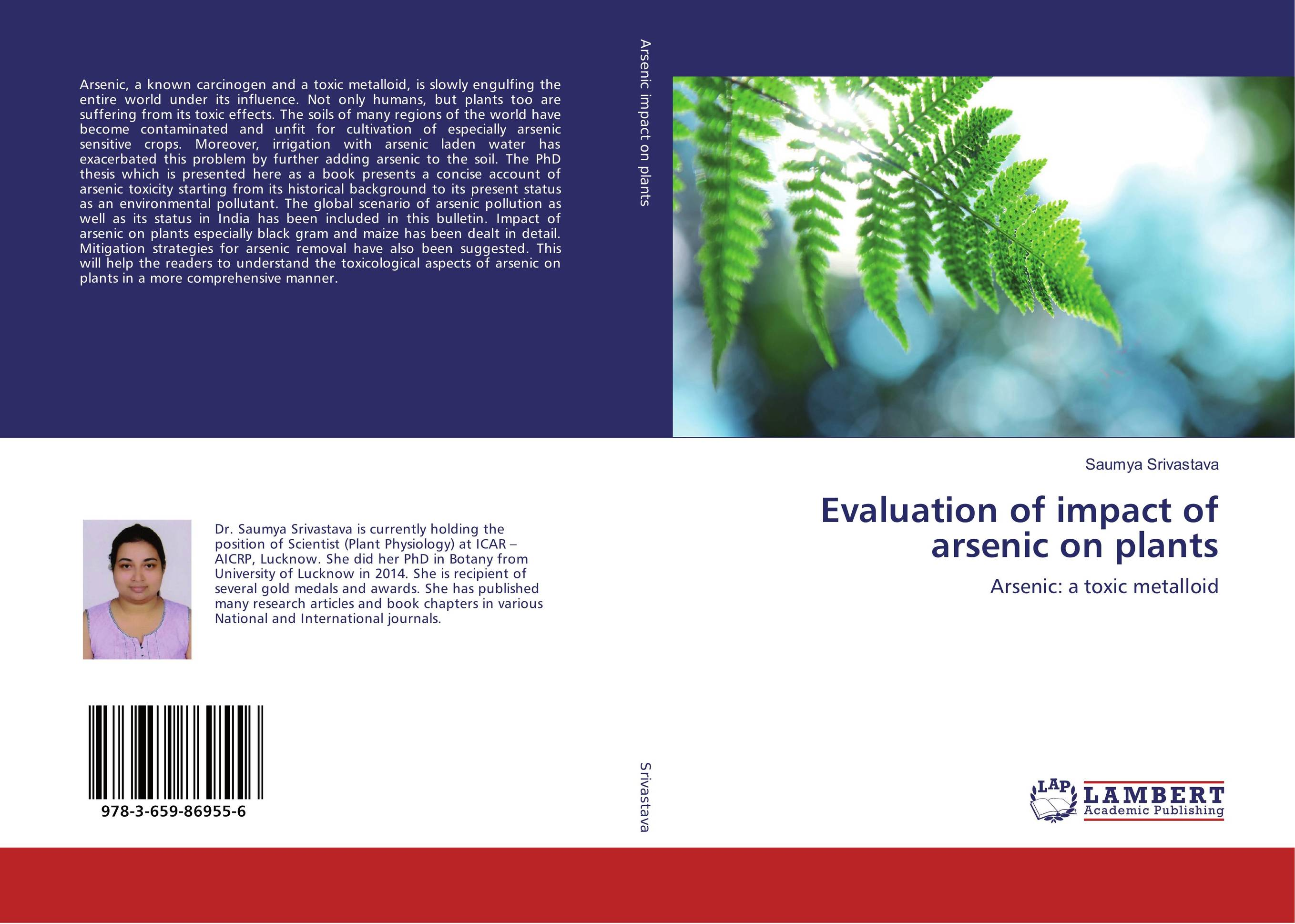 Evaluation of impact of arsenic on plants evaluation of the impact of a mega sporting event