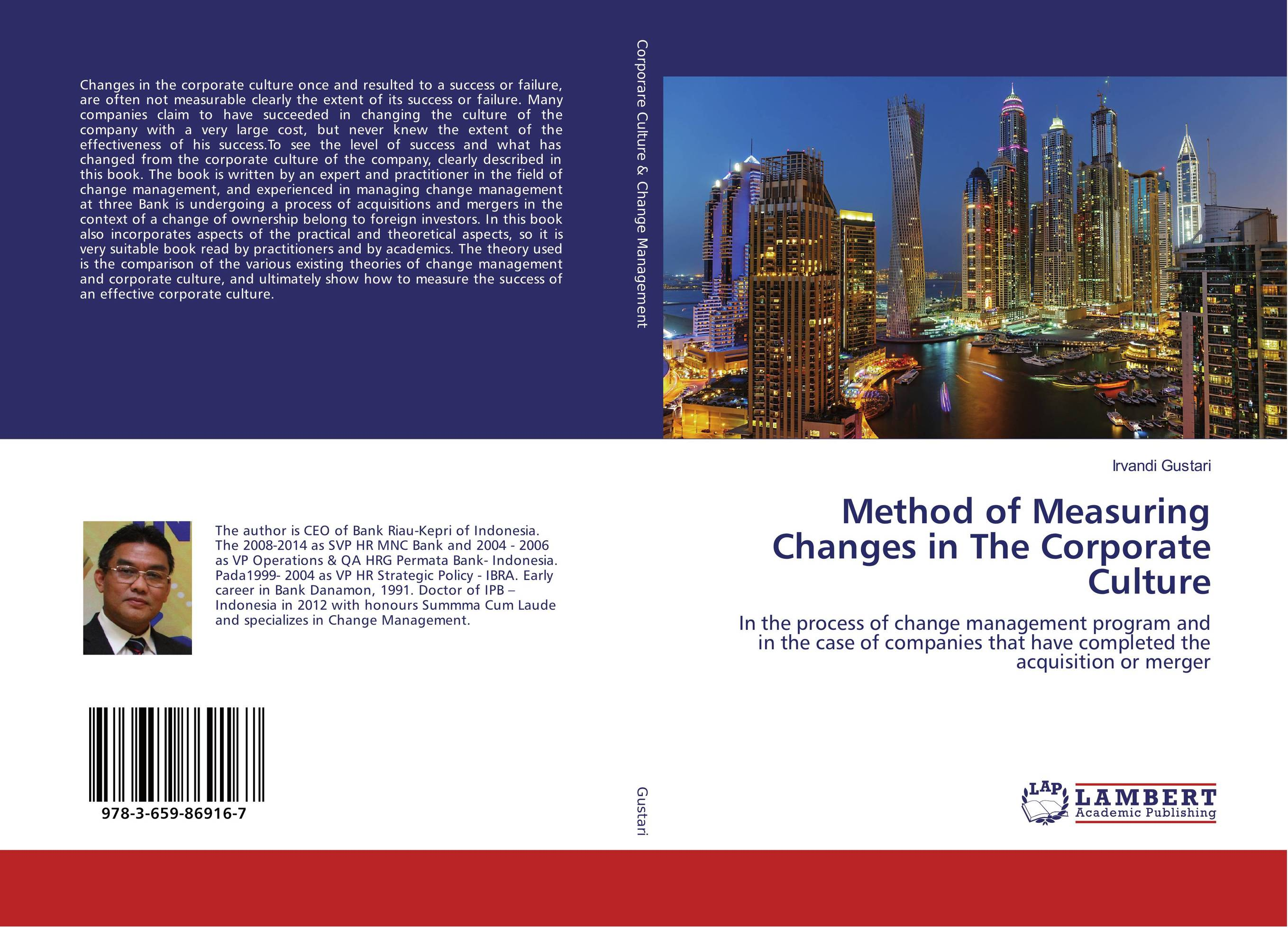 Method of Measuring Changes in The Corporate Culture