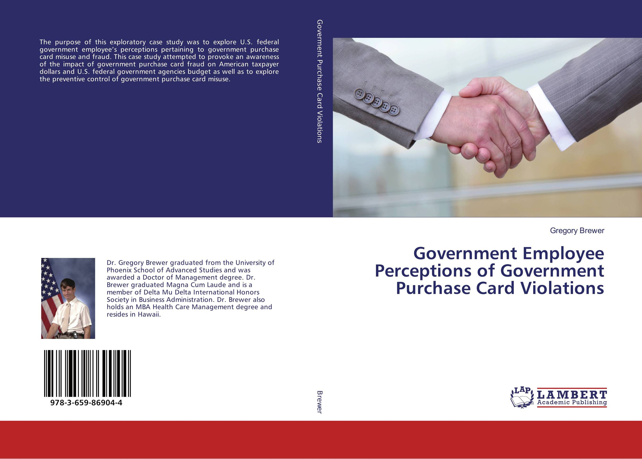 Government Employee Perceptions of Government Purchase Card Violations